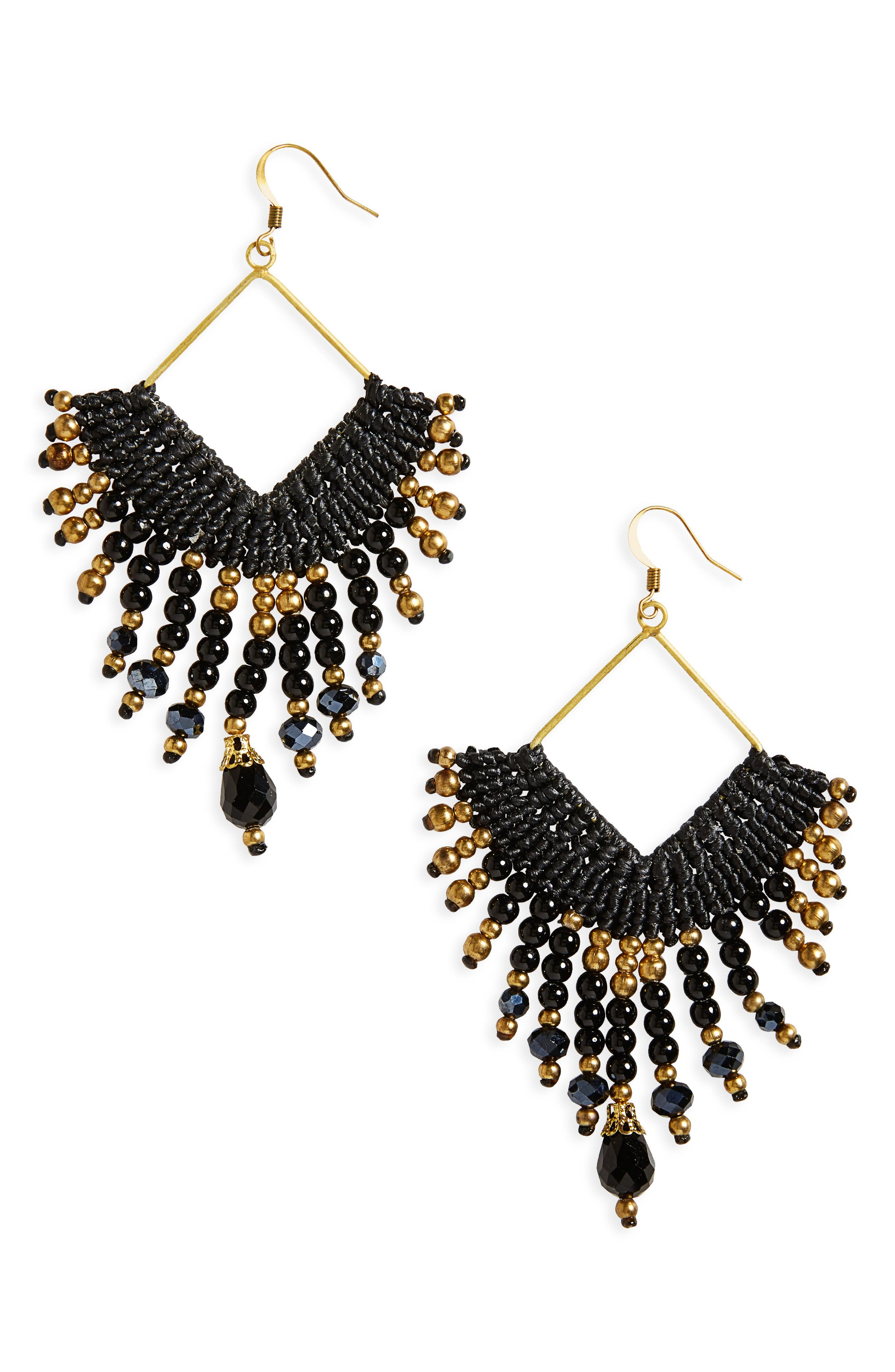 Panacea Fringe Earrings