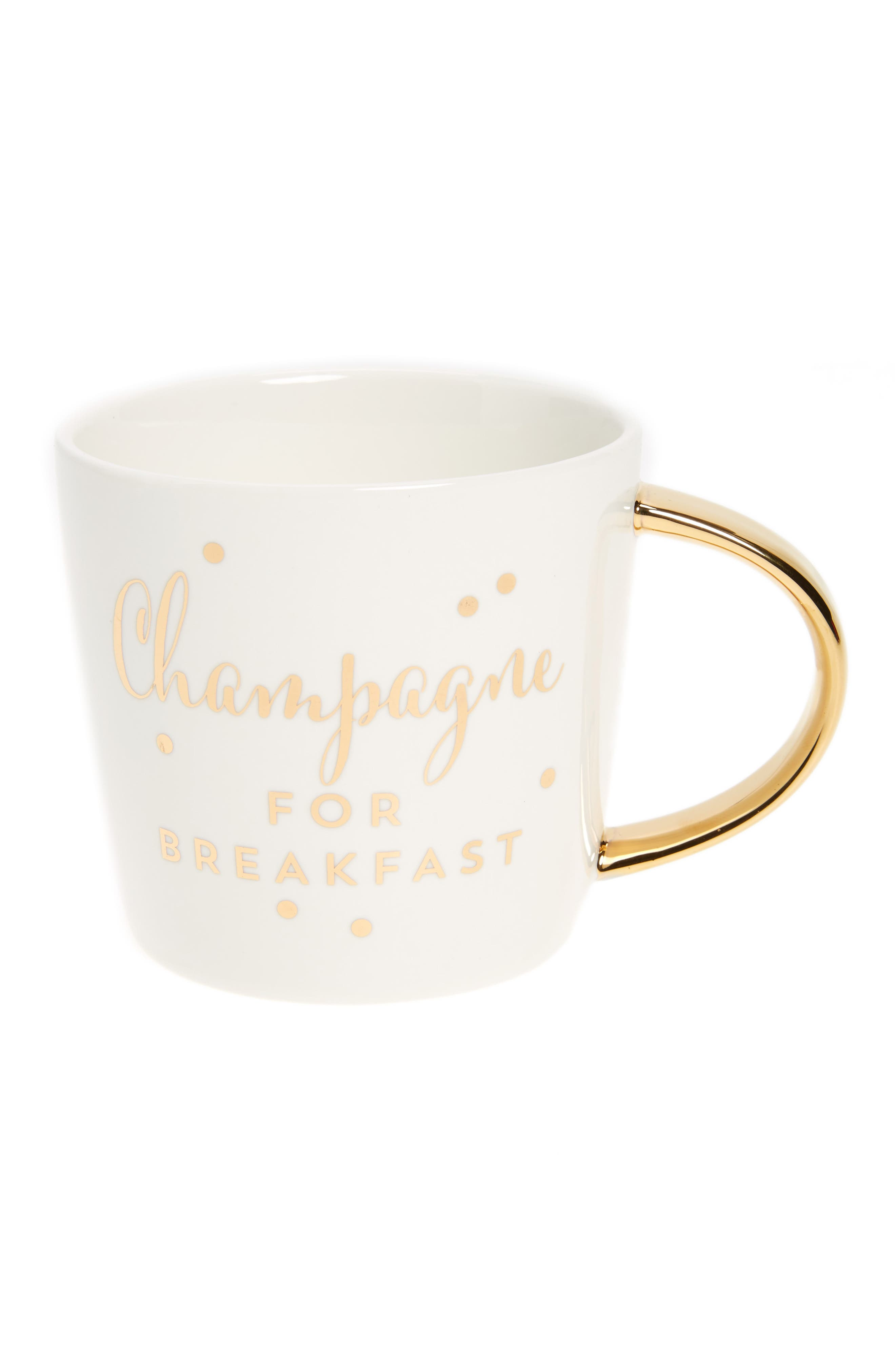 Slant Collections Champagne For Breakfast Mug