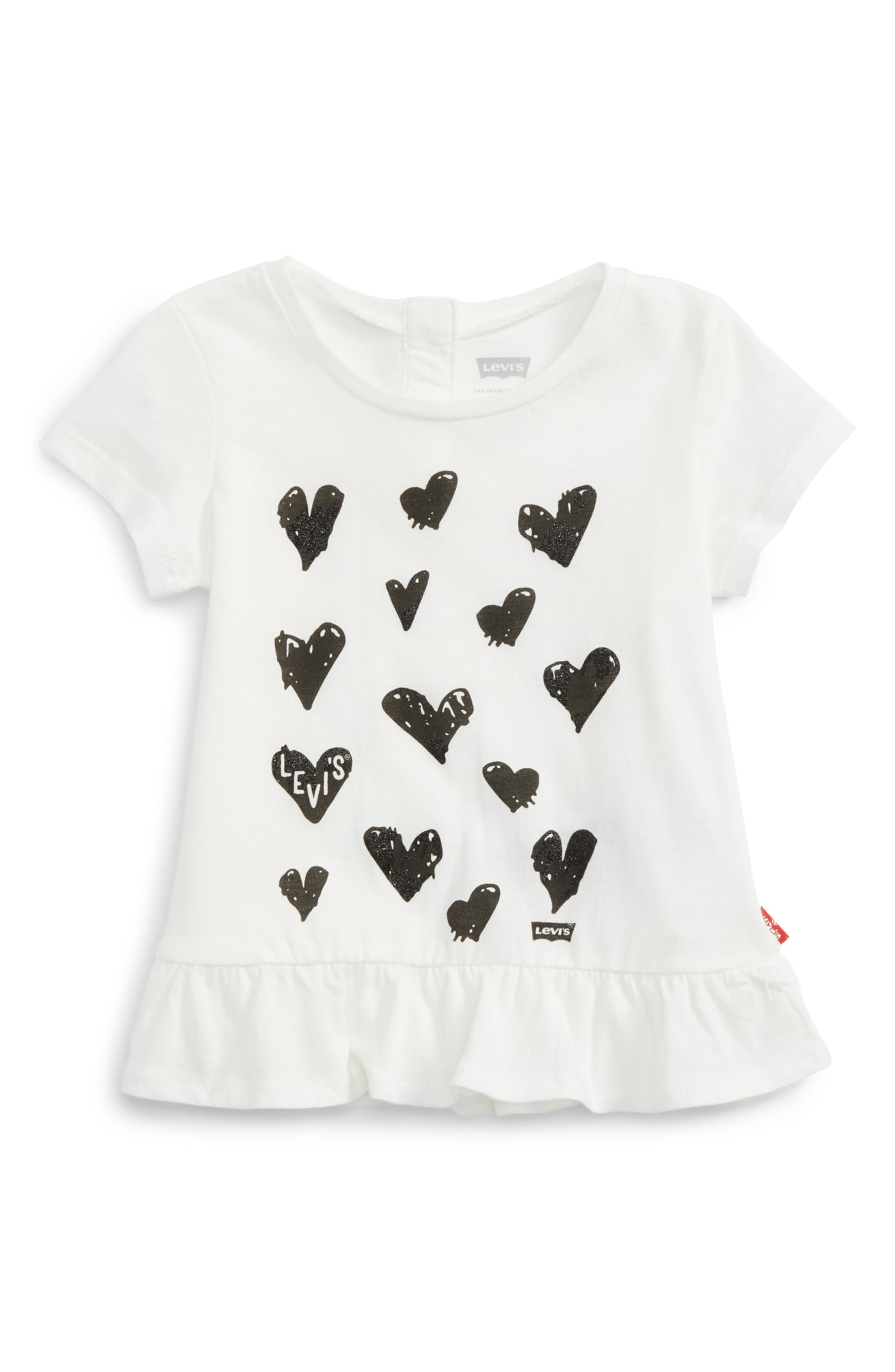 Levi's® Graphic Tee (Baby Girls)