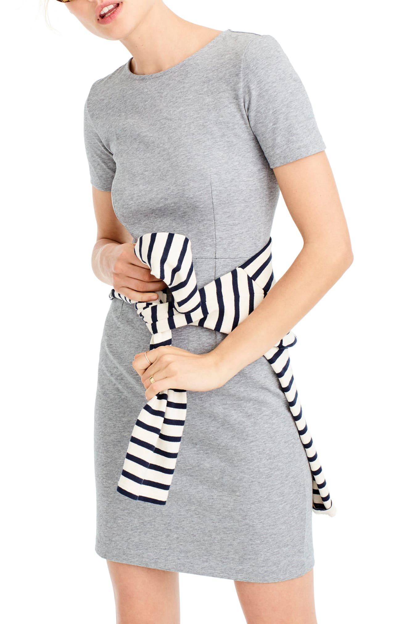 J.Crew Cotton Knit Sheath Dress