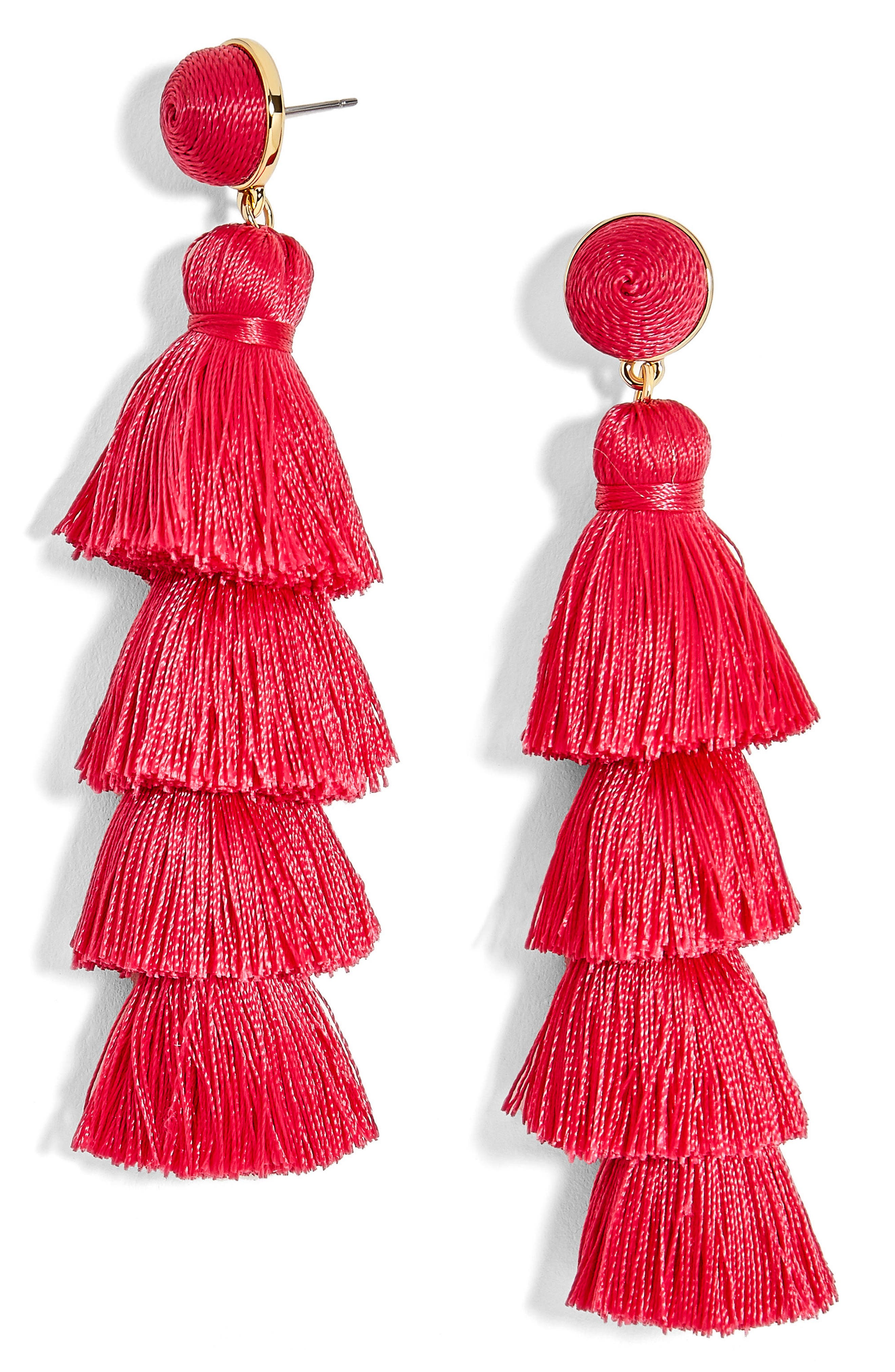 BaubleBar Antonella Tassel Fringe Earrings