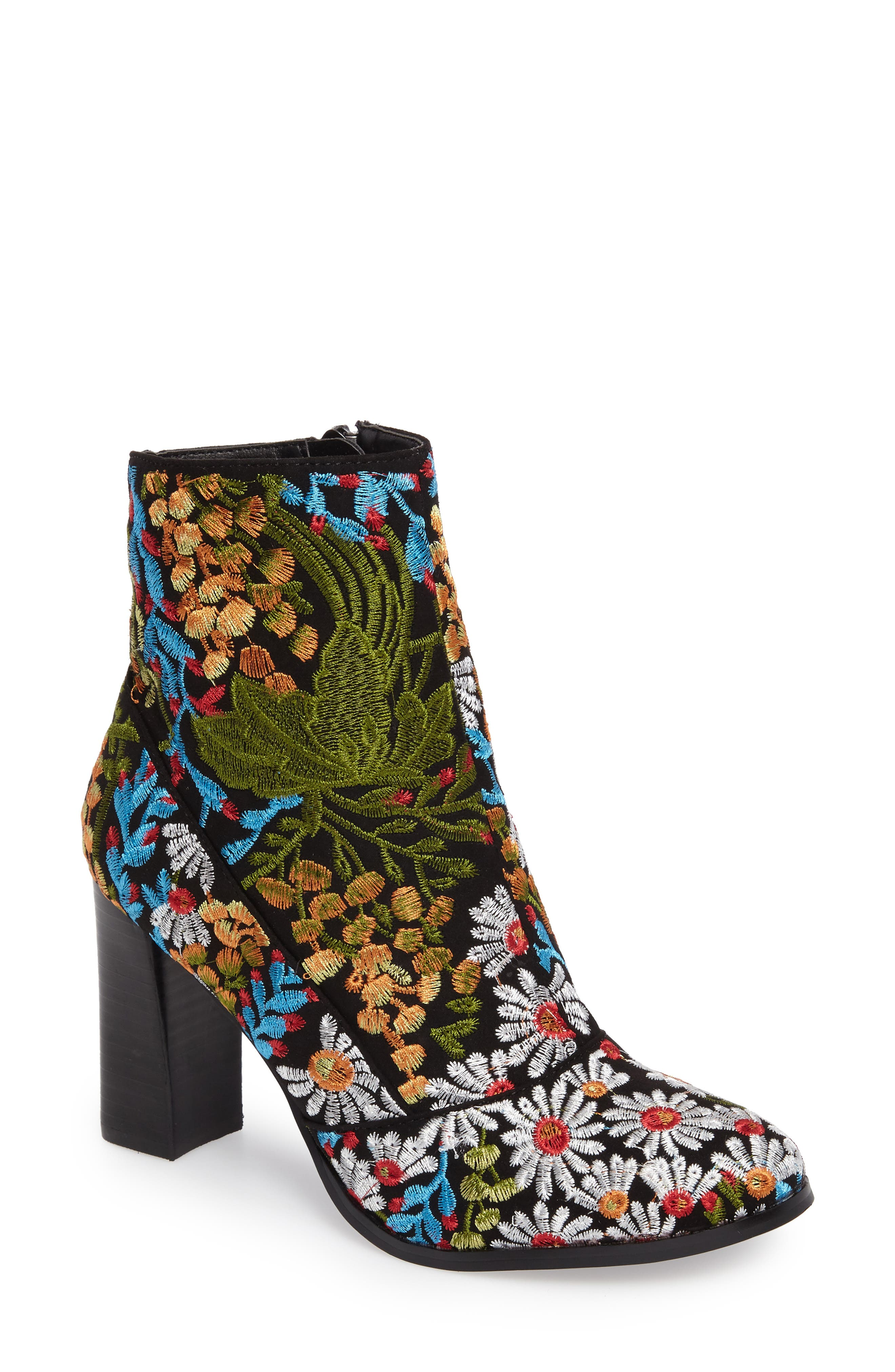 Coconuts by Matisse Jess Embroidered Bootie (Women)