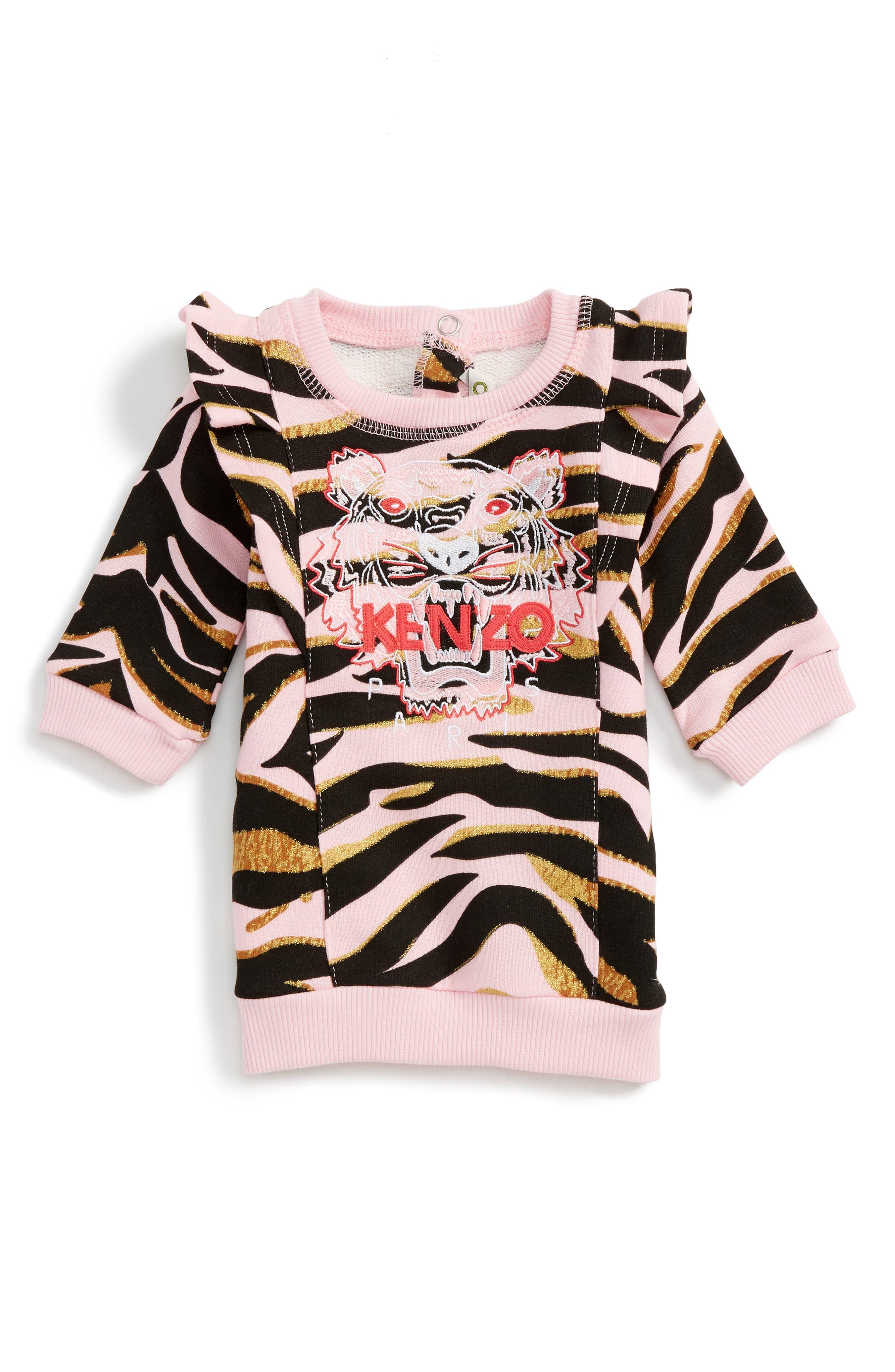 KENZO Logo Sweatshirt Dress (Baby)