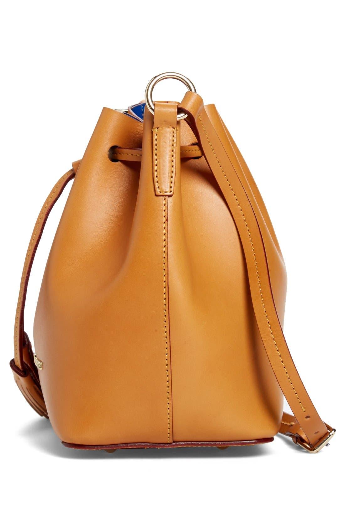 Alternate Image 5  - Dooney & Bourke 'Serena' Leather Bucket Bag