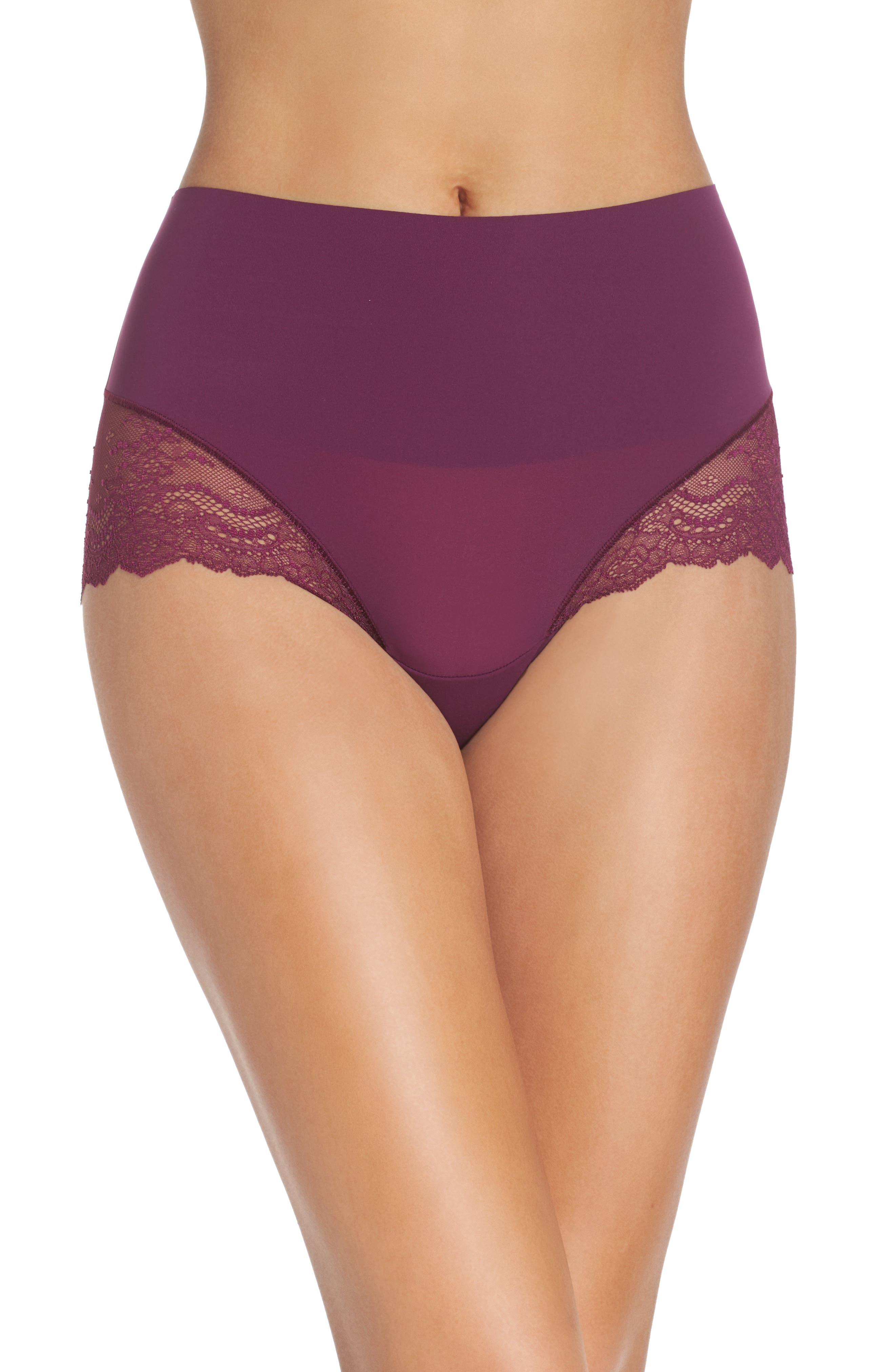 Main Image - SPANX® Undie-tectable Lace Hipster Panties