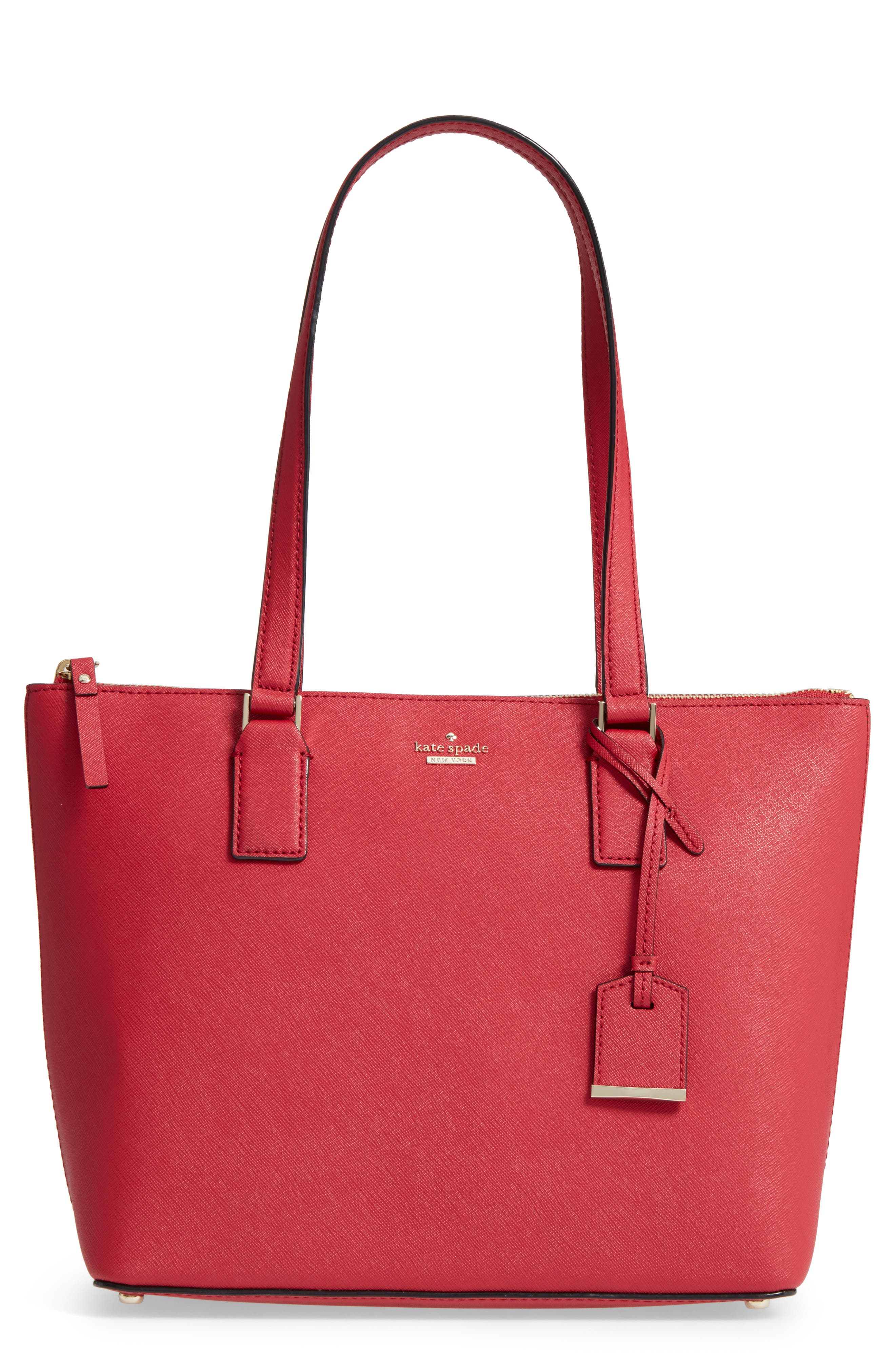 kate spade new york cameron street - small lucie leather tote