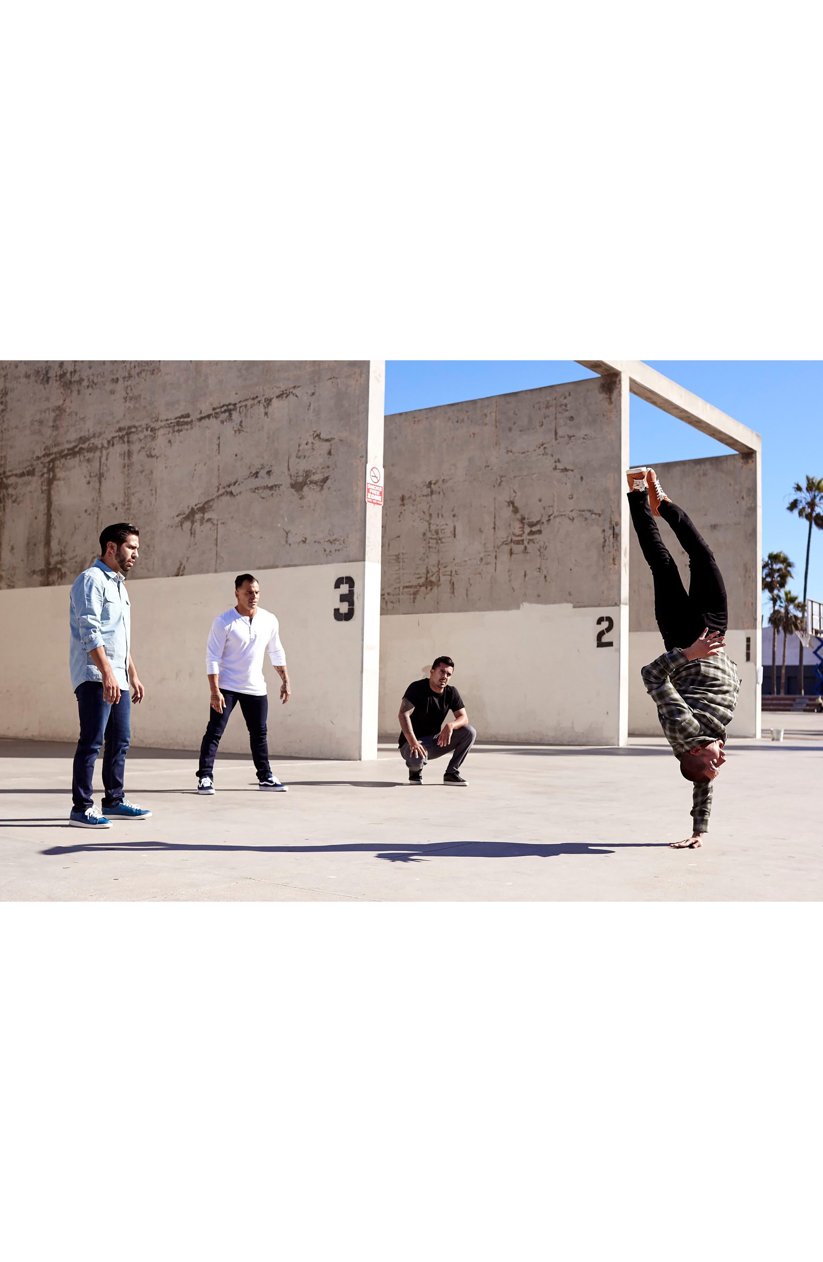 Alternate Image 8  - PAIGE Transcend - Lennox Slim Fit Jeans (Icecap)