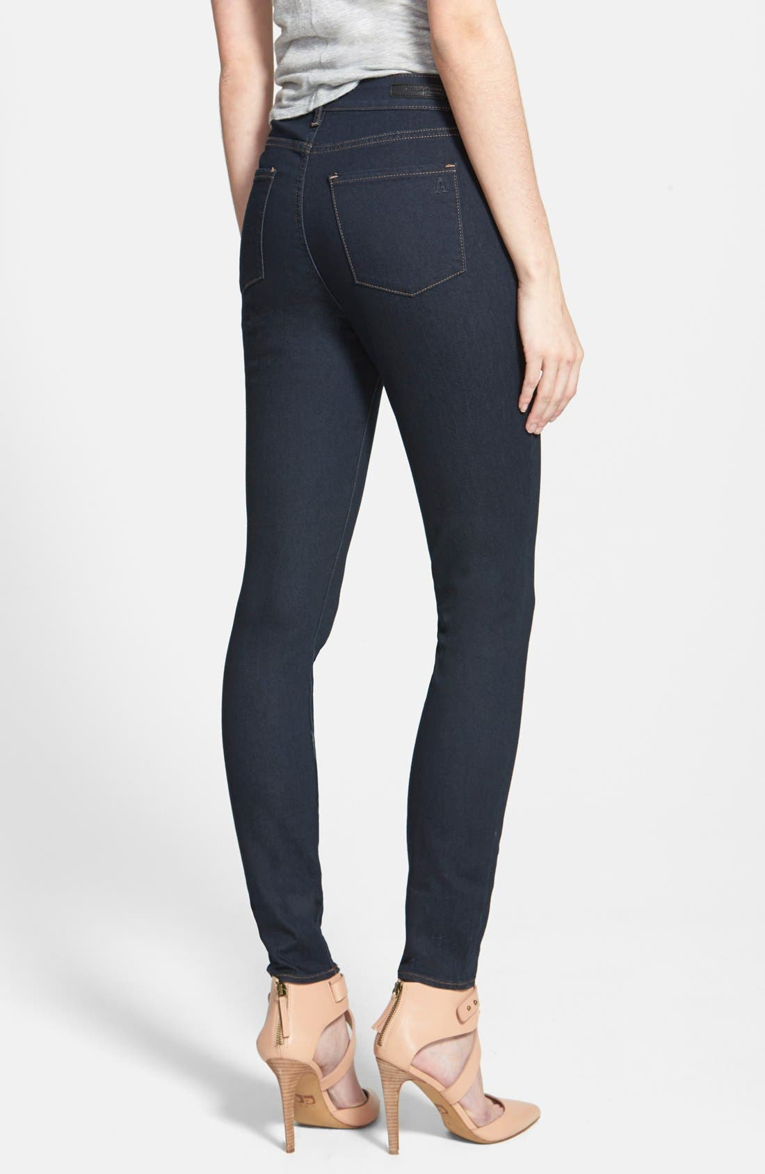 Alternate Image 2  - Articles of Society 'Halley' High Waist Stretch Skinny Jeans