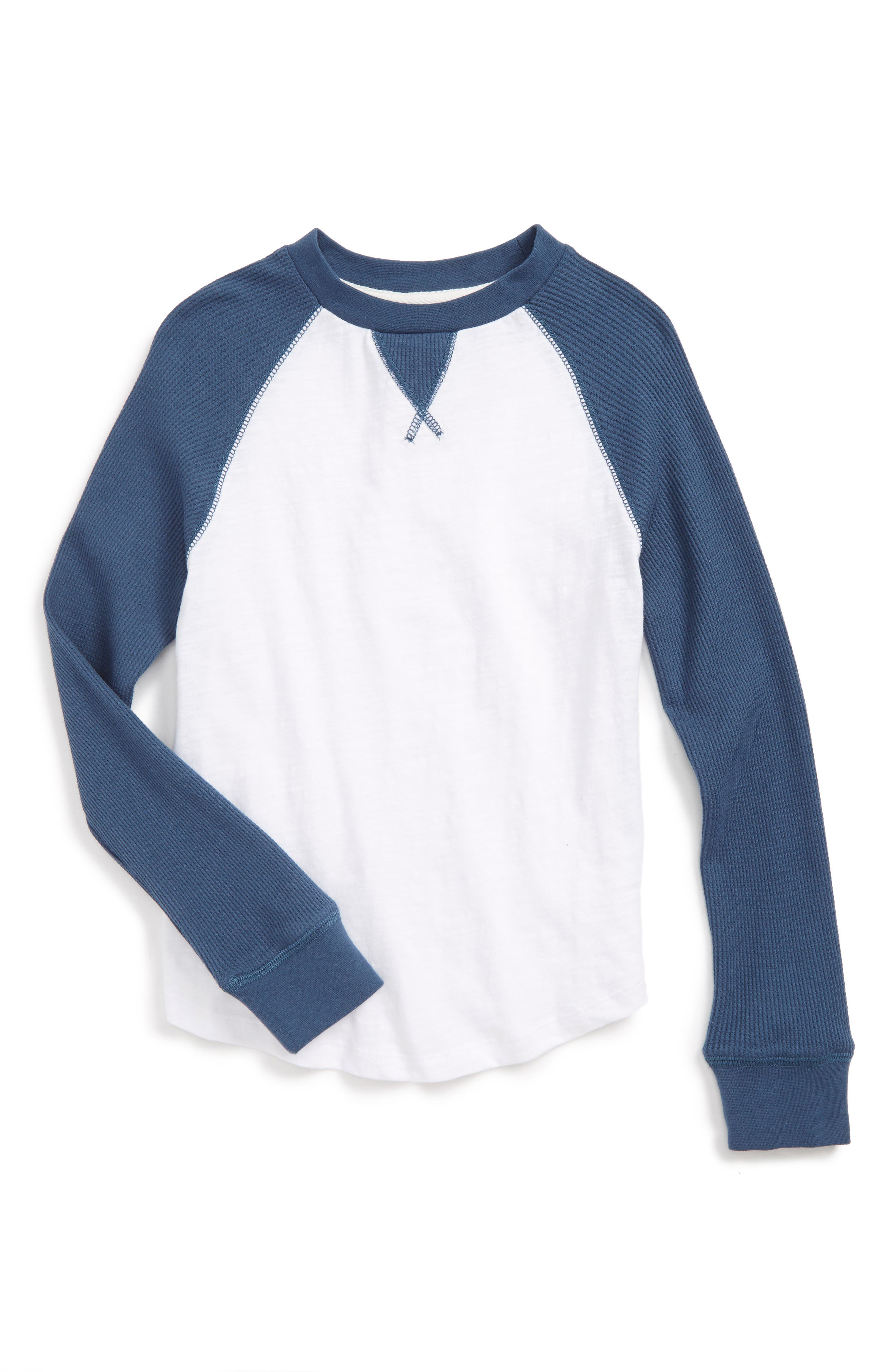 Peek Raglan T-Shirt (Toddler Boys, Little Boys & Big Boys)