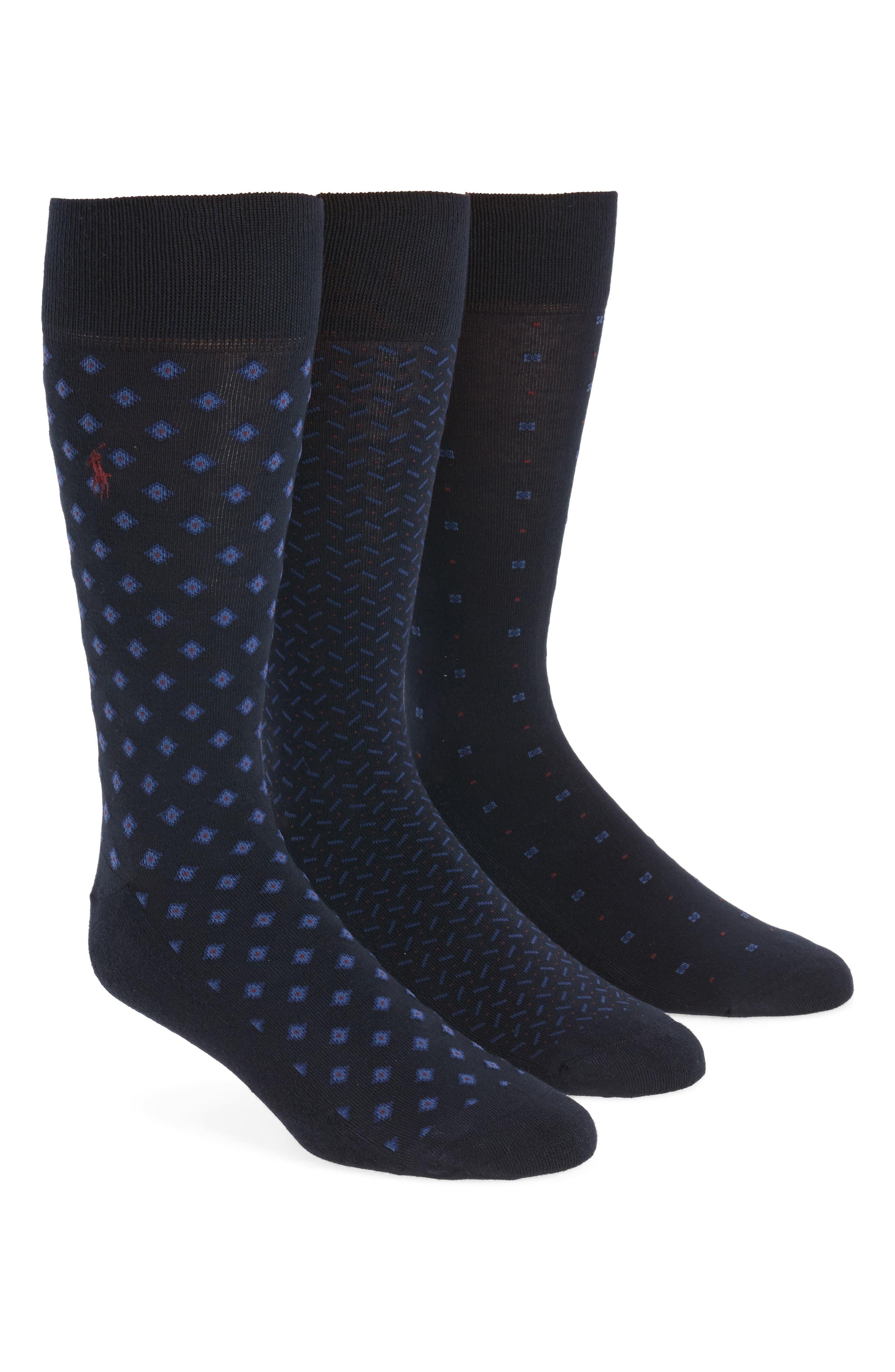 Polo Ralph Lauren 3-Pack Performance Socks