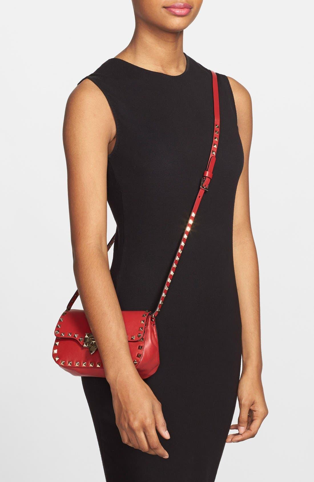 Alternate Image 2  - Valentino 'Mini Rockstud' Crossbody Bag