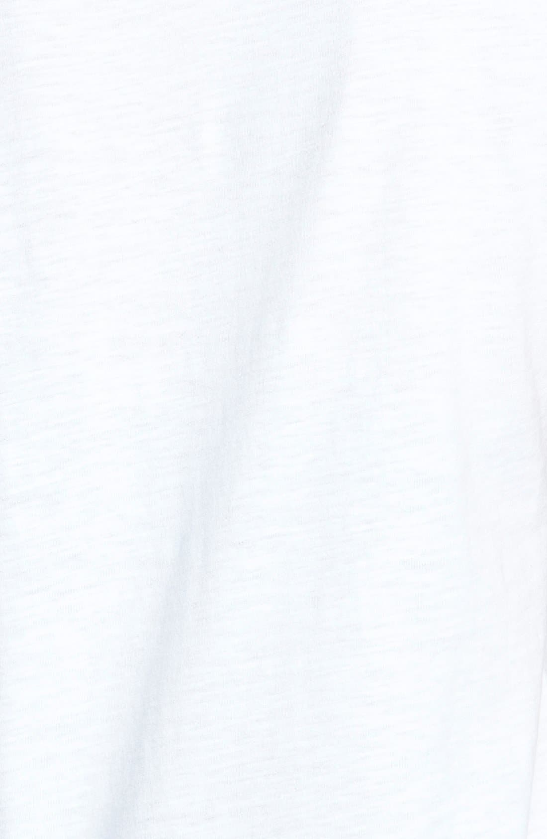Alternate Image 3  - Eileen Fisher Organic Cotton Scoop Neck Tee (Online Only)