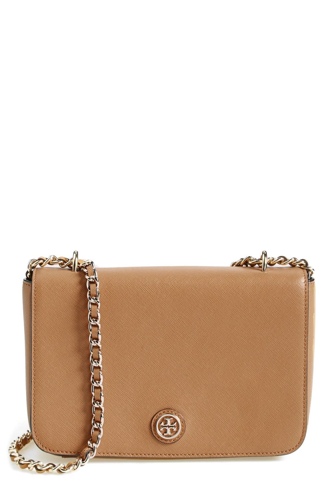 Main Image - Tory Burch 'Robinson' Leather Shoulder Bag