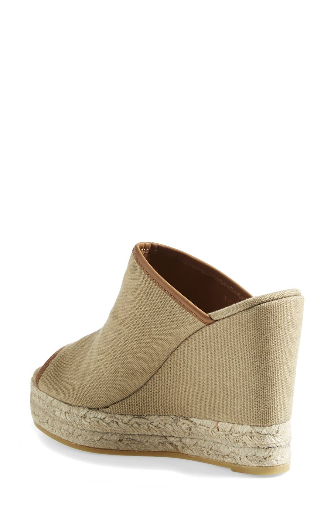Alternate Image 2  - Tory Burch Canvas Wedge Sandal (Women)