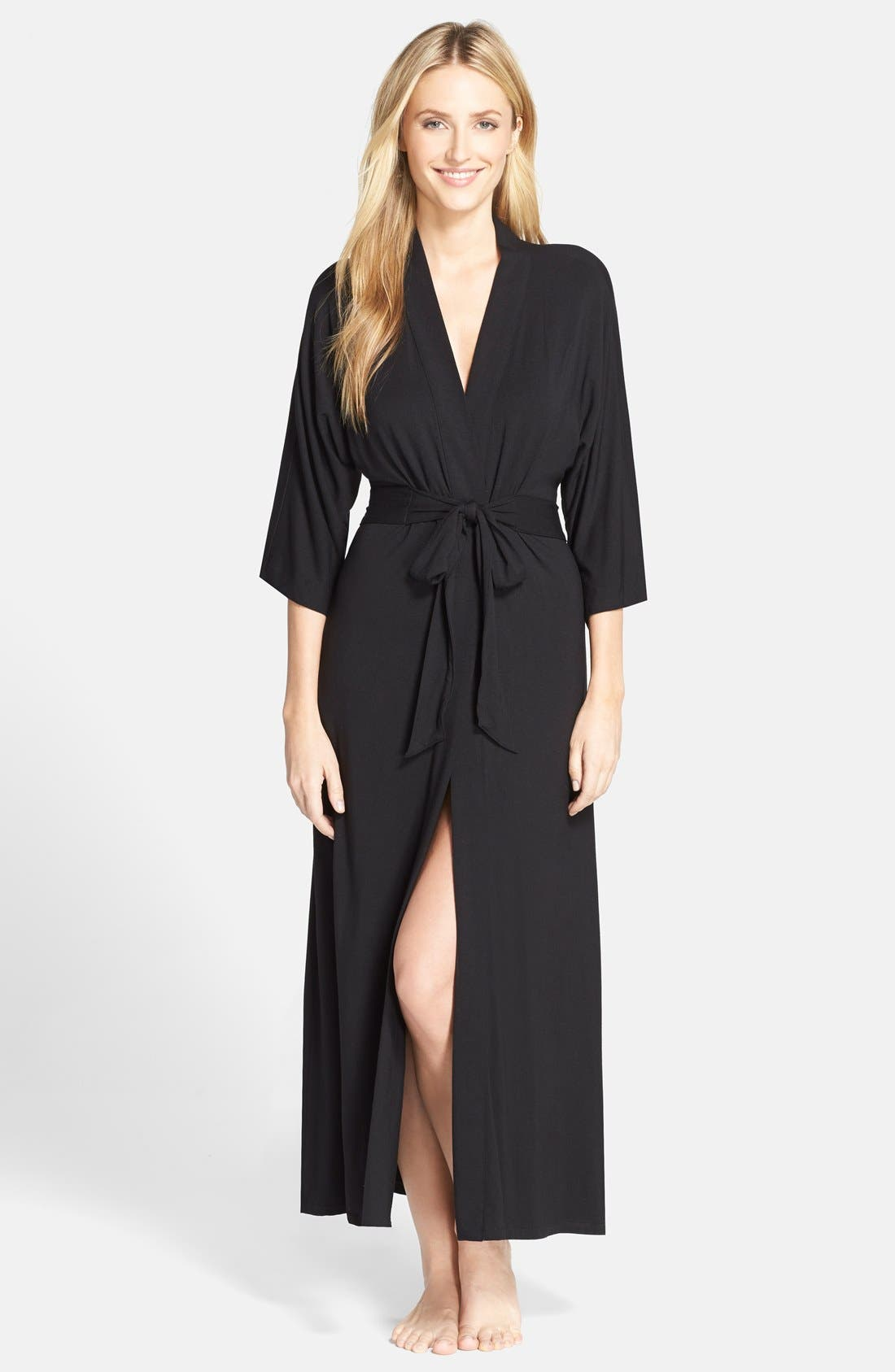 Alternate Image 1 Selected - DKNY 'Urban Essentials' Long Robe
