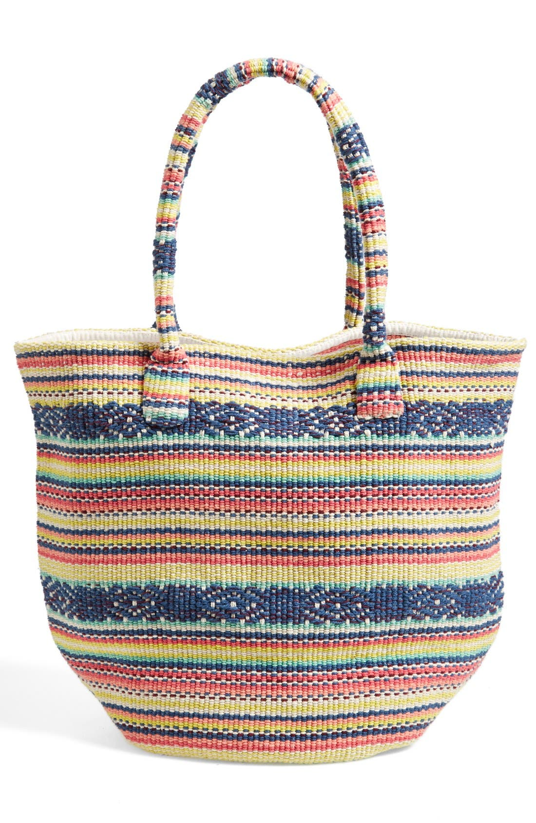 Alternate Image 4  - Billabong 'Even Waves' Woven Beach Tote