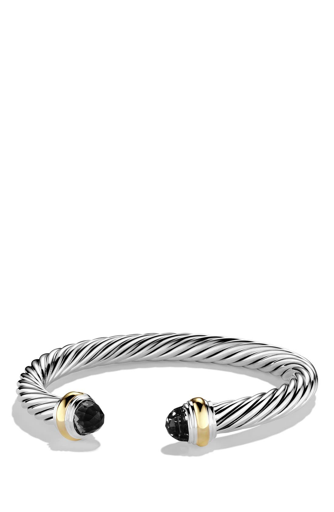 David Yurman Cable Classics Bracelet with Semiprecious Stones