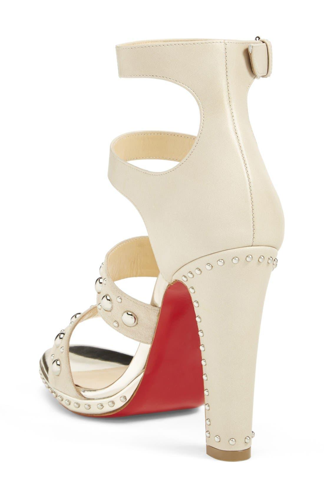 Alternate Image 2  - Christian Louboutin Studded Sandal