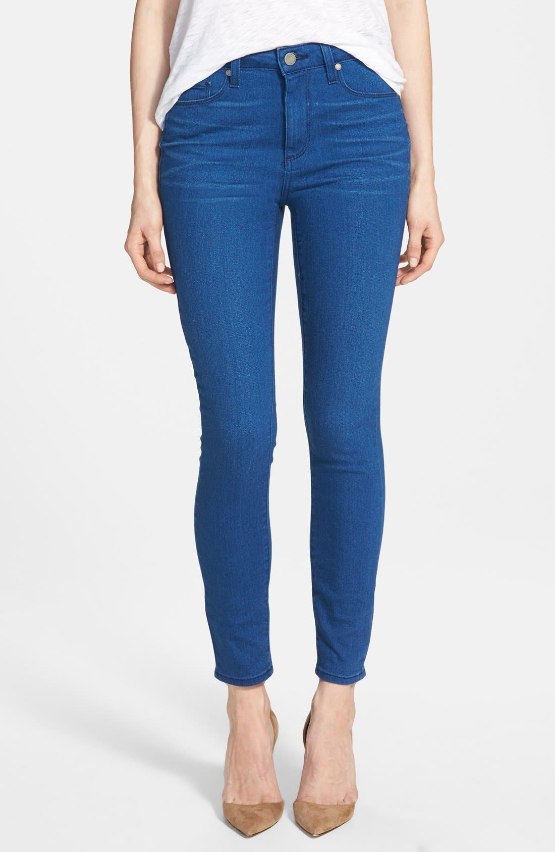 Main Image - Paige Denim 'Hoxton' Ankle Skinny Jeans (Frenchie)