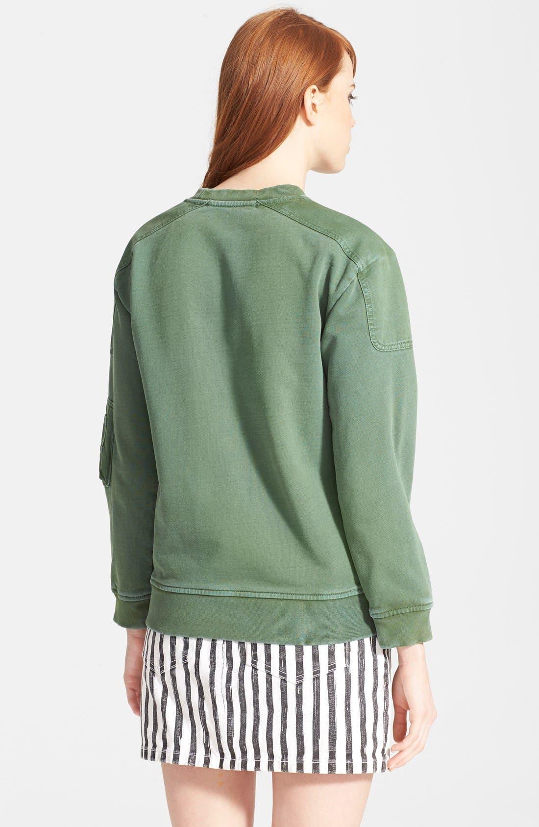 Alternate Image 2  - MARC BY MARC JACOBS Vintage Pocket Sweatshirt