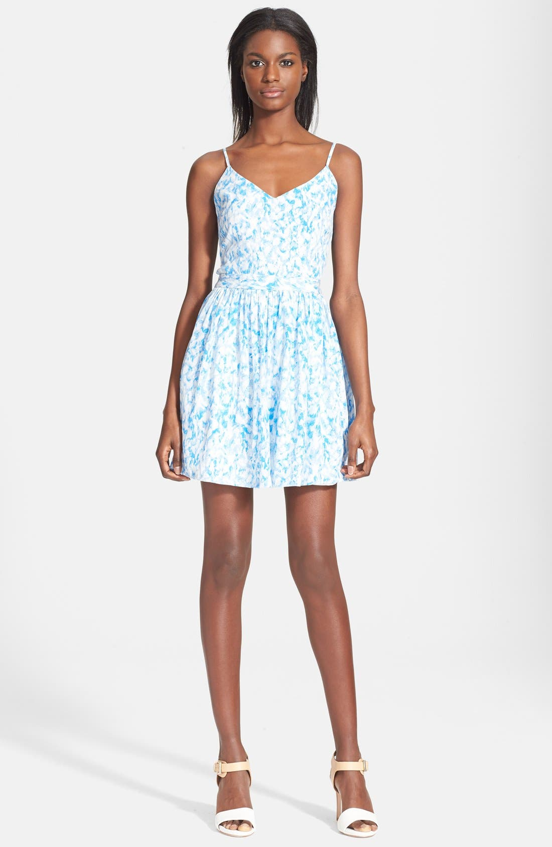 Main Image - Joie 'Hudette' Print Silk Dress