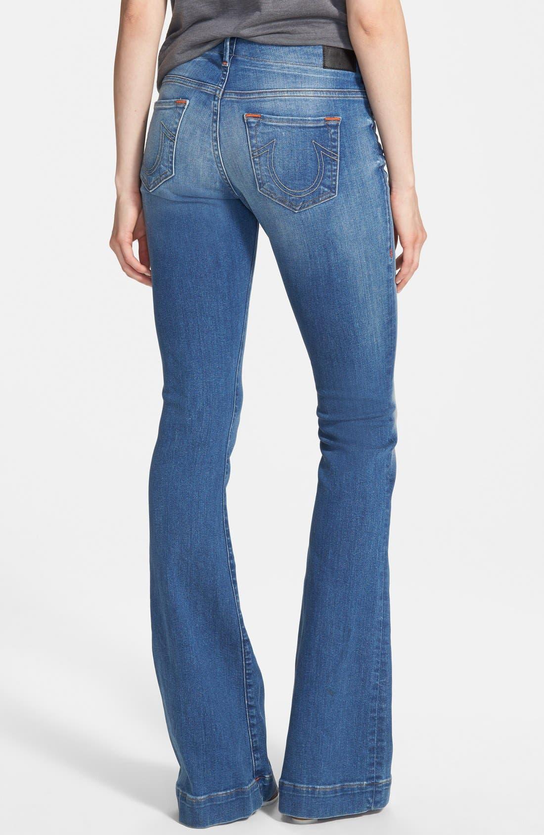 Alternate Image 2  - True Religion Brand Jeans 'Charlize' Flare Jeans (Edenhurst)