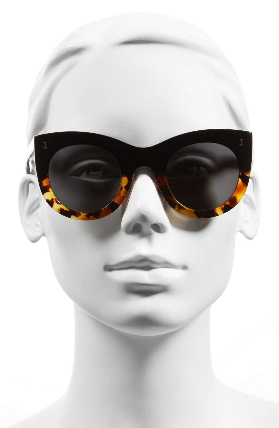 Alternate Image 2  - Illesteva 'Boca' 47mm Round Sunglasses