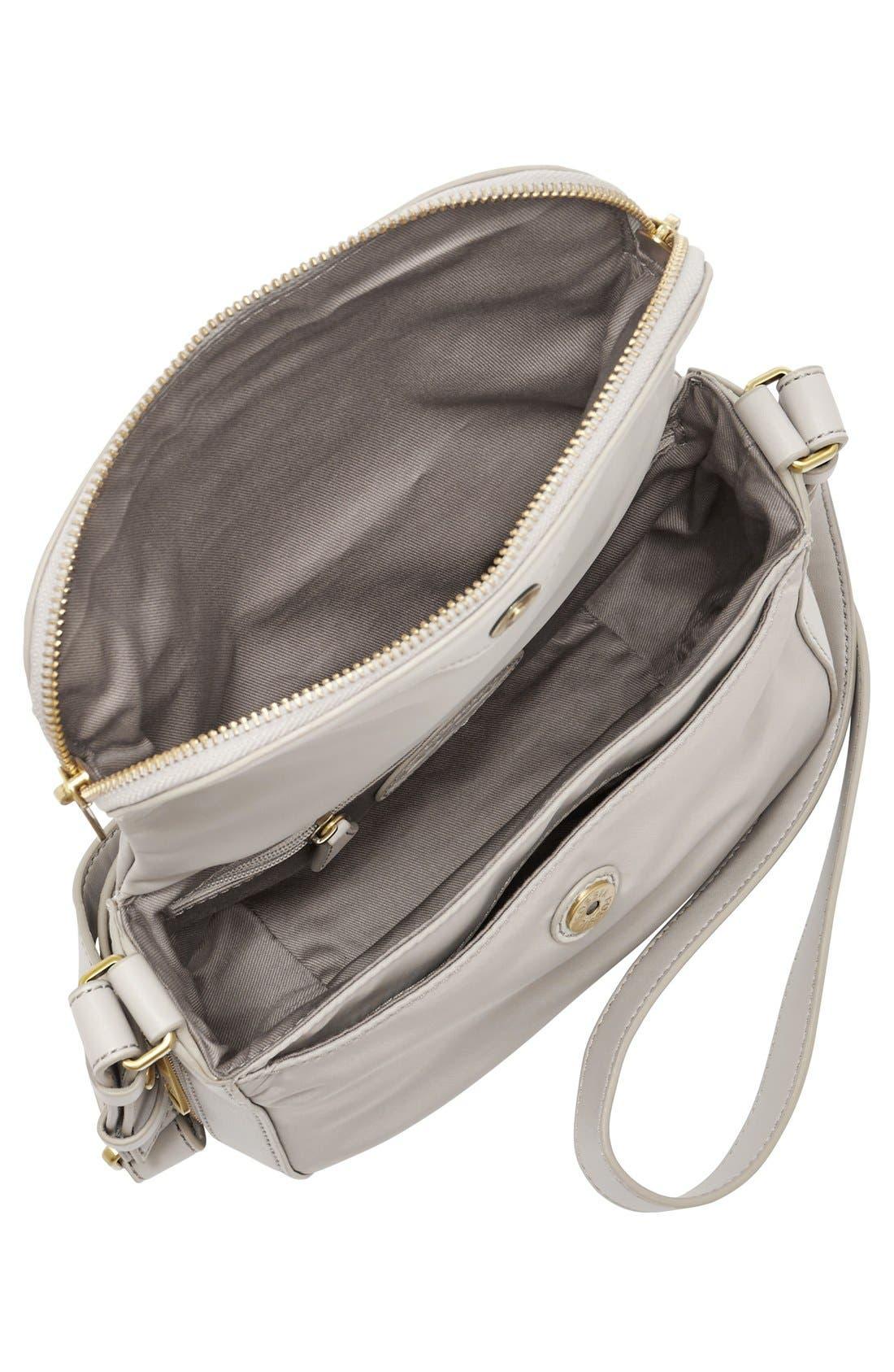 Alternate Image 5  - Fossil 'Small Preston' Nylon Crossbody Bag