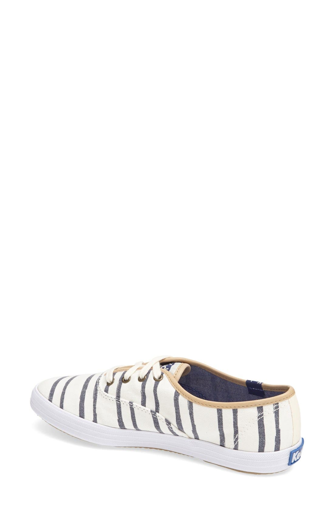 Alternate Image 4  - Keds® 'Champion - Washed Beach Stripe' Sneaker (Women)