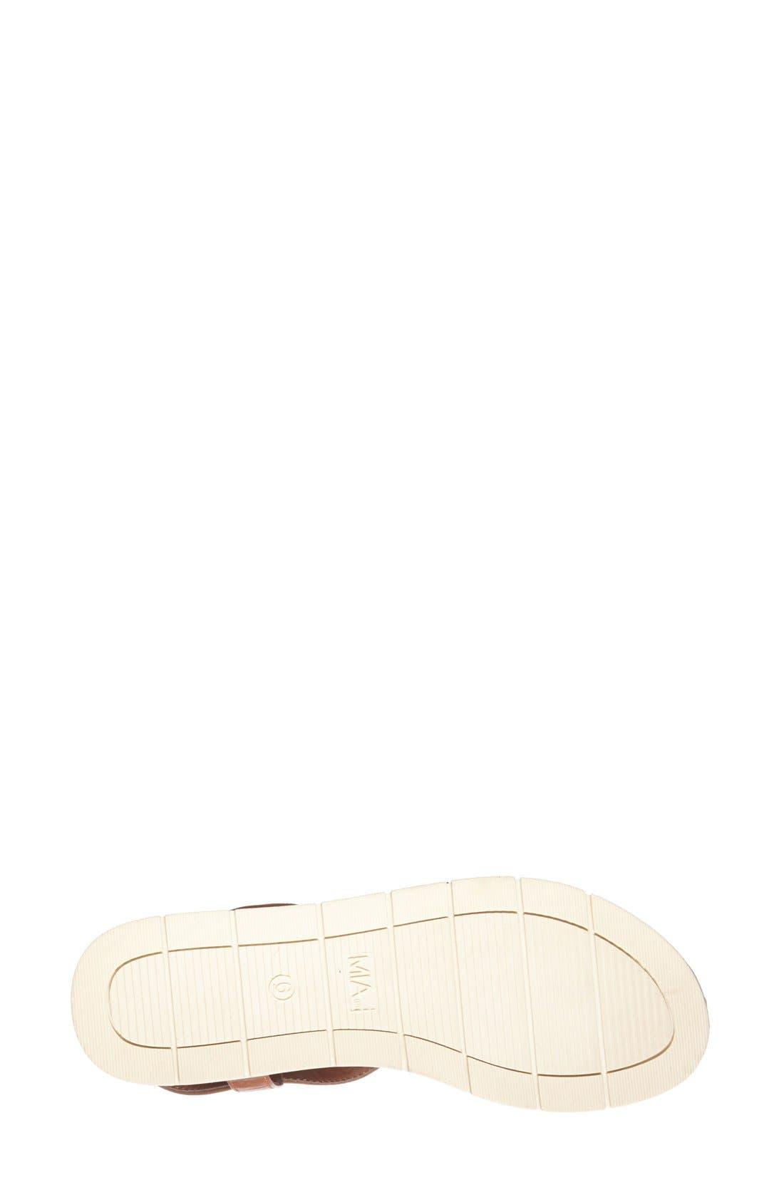 Alternate Image 4  - MIA 'Baseline' Slingback Flat Sandal (Women)