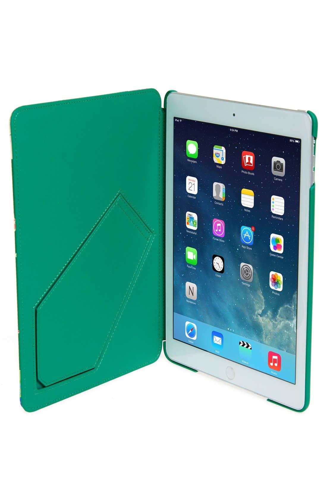 Alternate Image 2  - kate spade new york 'spring blooms' iPad Air hardcase folio