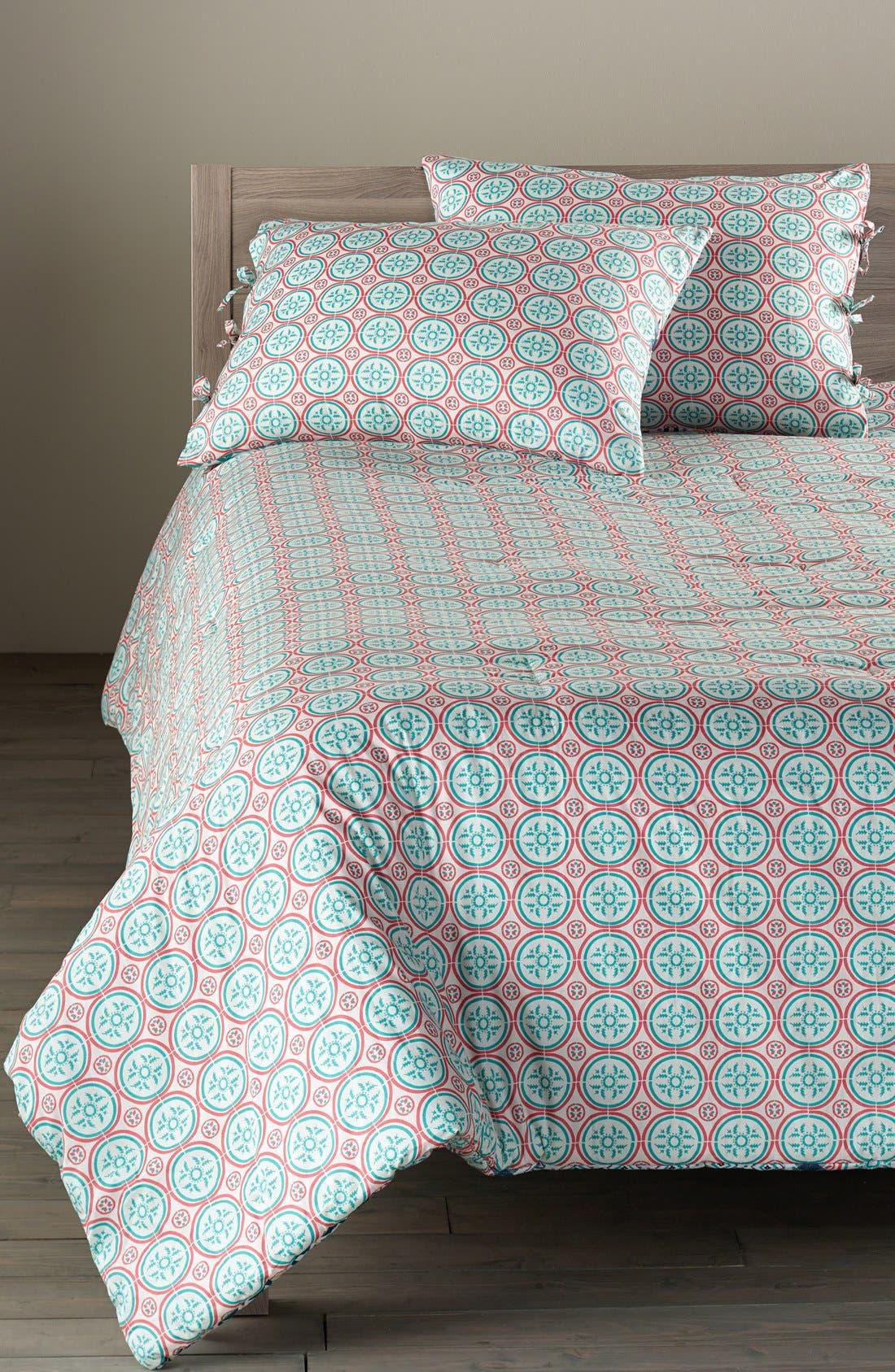 Alternate Image 2  - Nordstrom at Home 'Mediterranean Tiles' Comforter