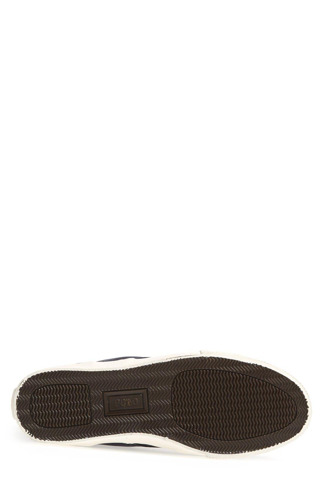 Alternate Image 4  - Polo Ralph Lauren 'Tedd' Sneaker (Men)