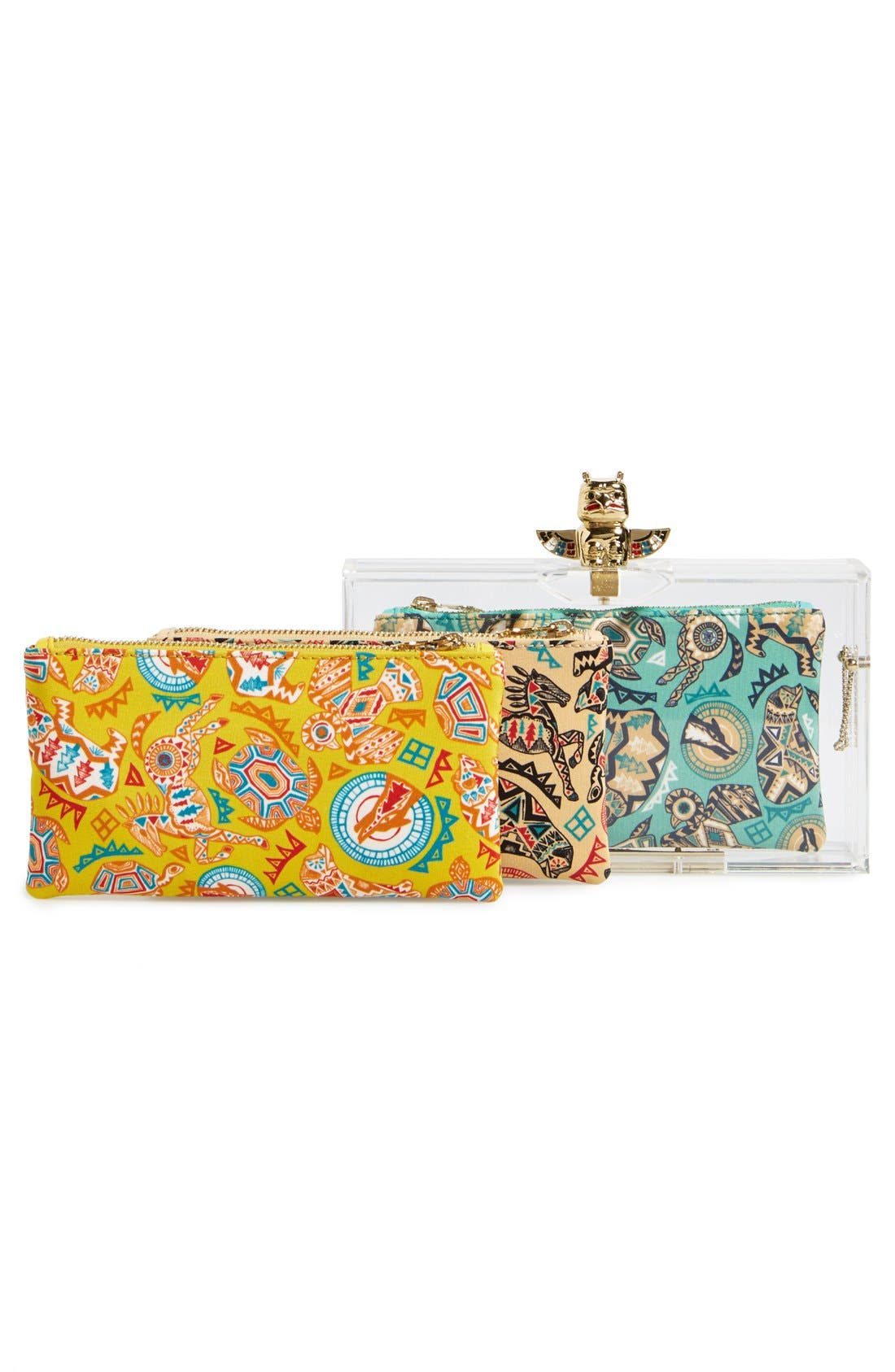 Alternate Image 8  - Charlotte Olympia 'Pandora' Clutch with Zip Pouches