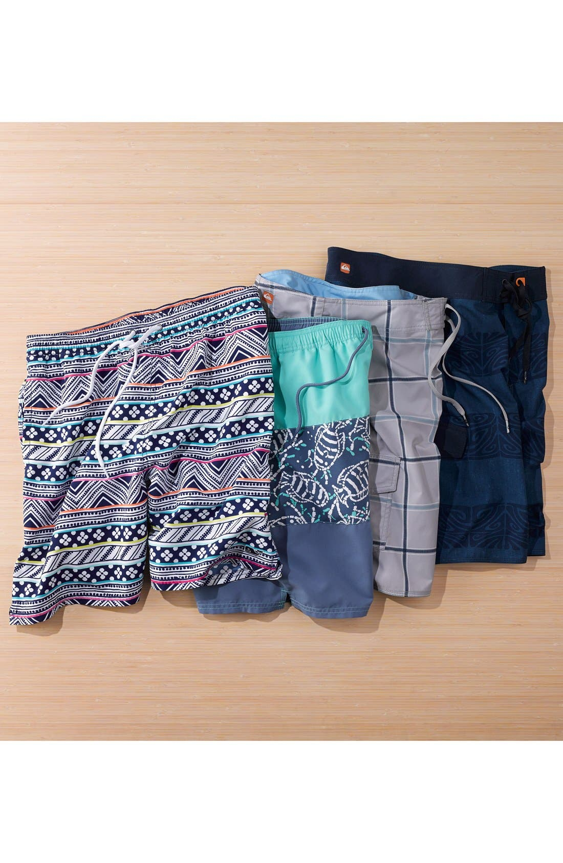 Alternate Image 4  - Quiksilver Waterman Collection 'Square Root' Board Shorts