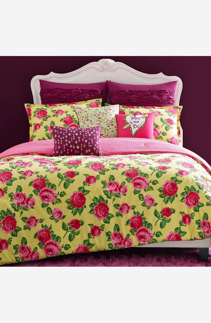 Betsey Johnson Bedding 39 Garden Variety 39 Comforter Set