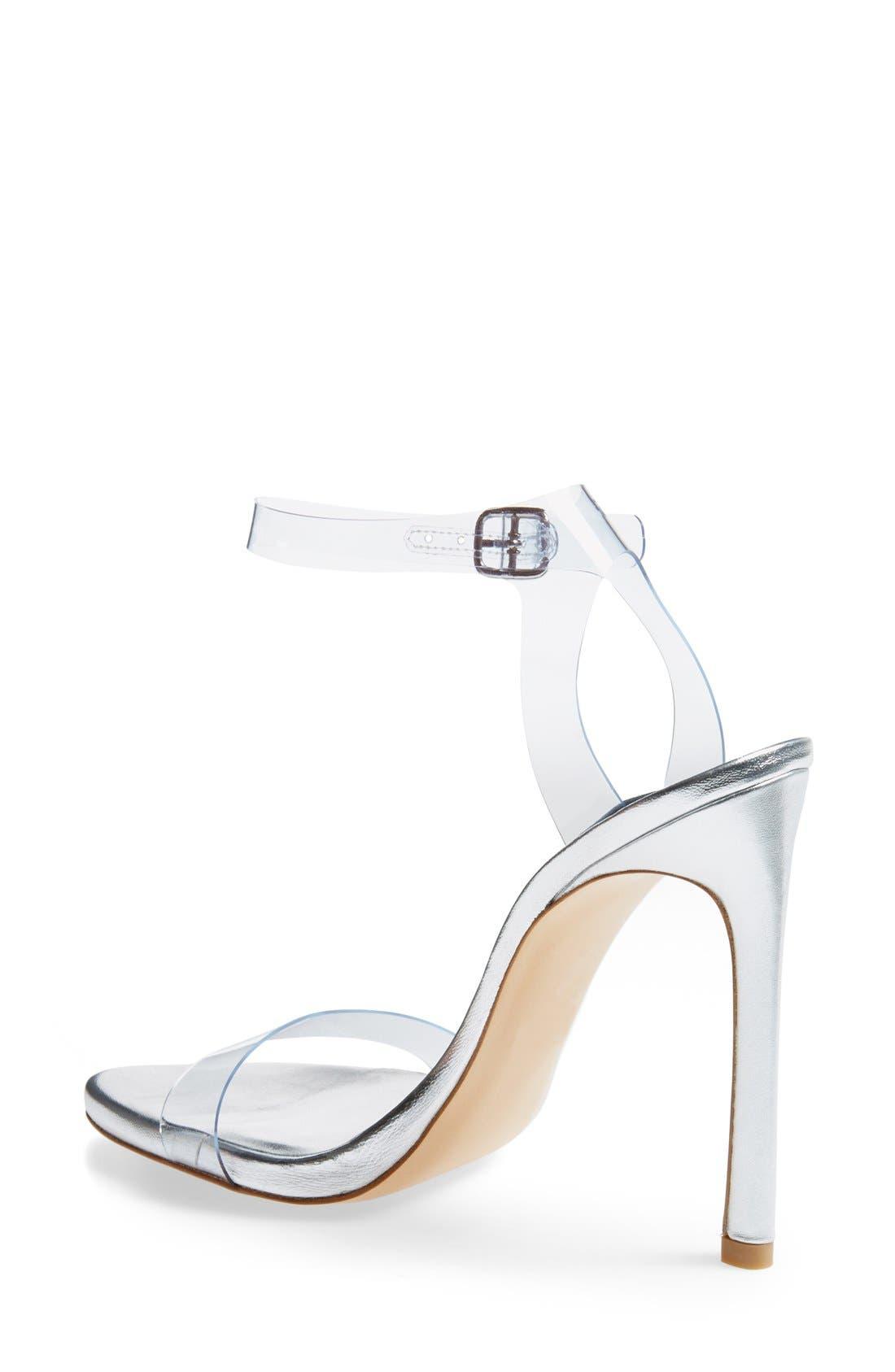 Alternate Image 4  - Stuart Weitzman 'Bareitall' Translucent Strap Sandal (Women)