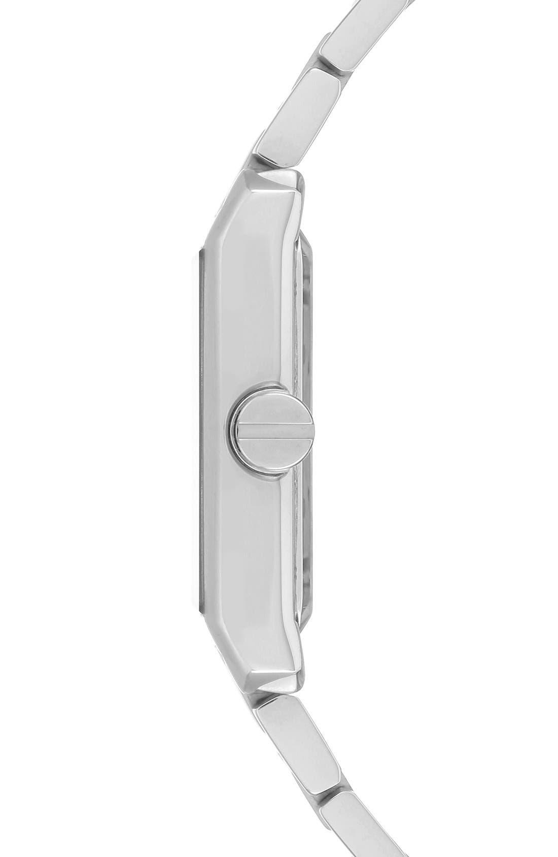 Alternate Image 3  - Vince Camuto Rectangle Bracelet Watch, 40mm