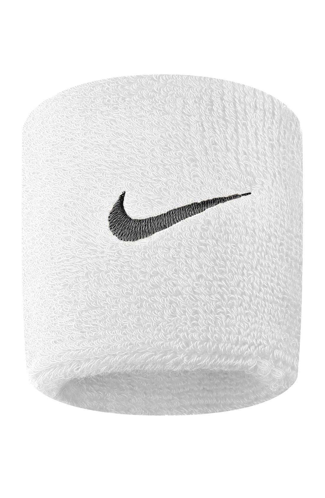 Alternate Image 1 Selected - Nike 'Swoosh' Wristbands