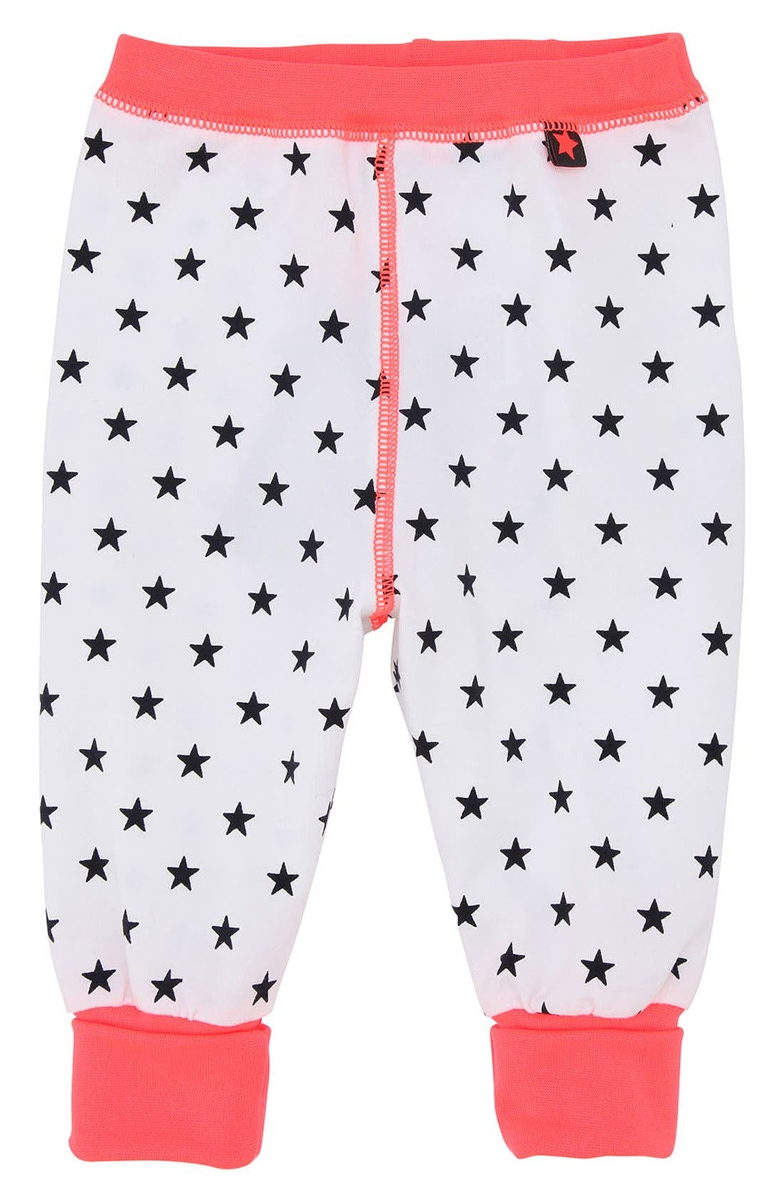 Alternate Image 1 Selected - molo 'Silvia' Star Print Jersey Pants (Baby)