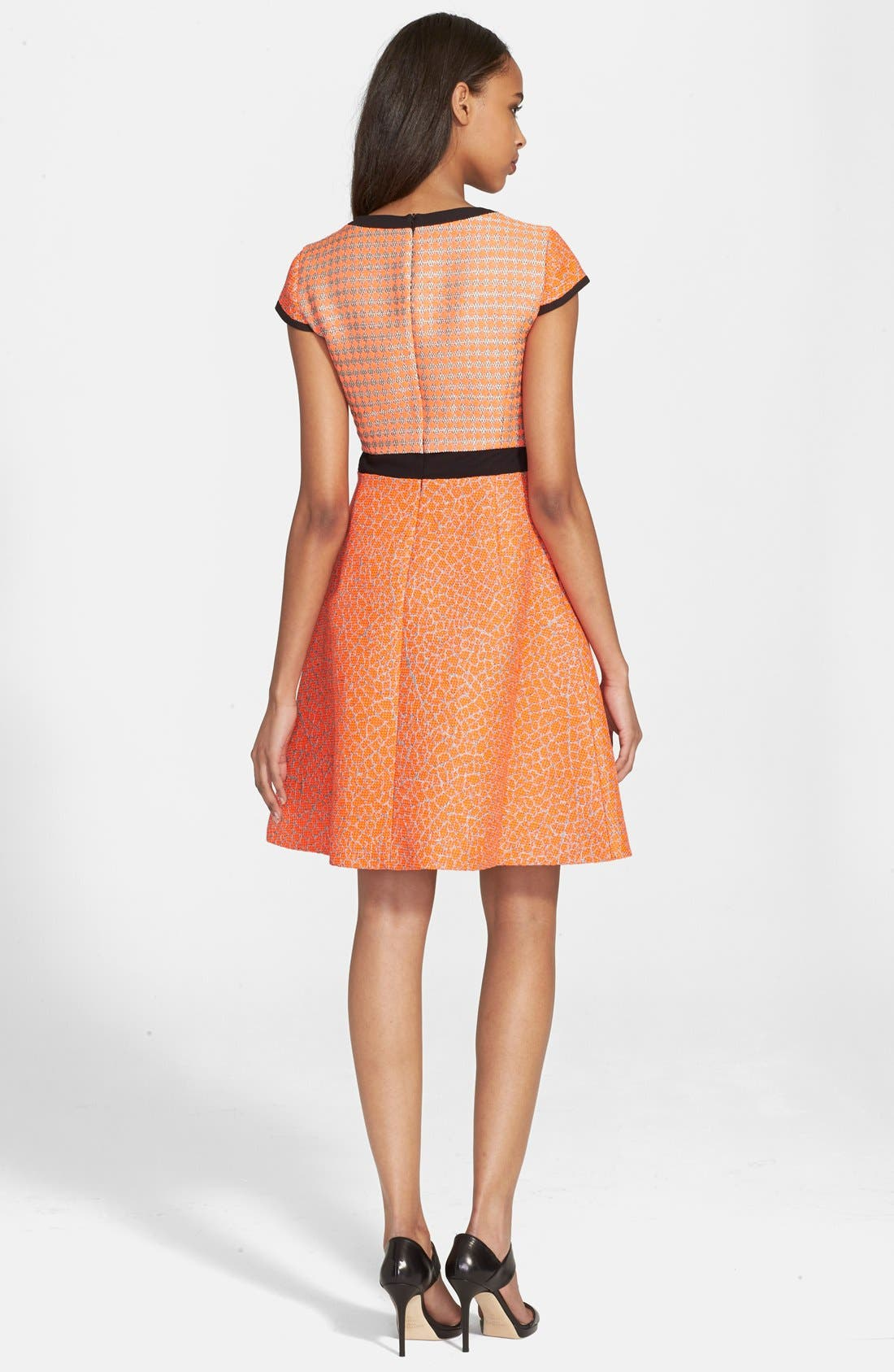 Alternate Image 2  - Ted Baker London 'Quiara' Jacquard Fit & Flare Dress