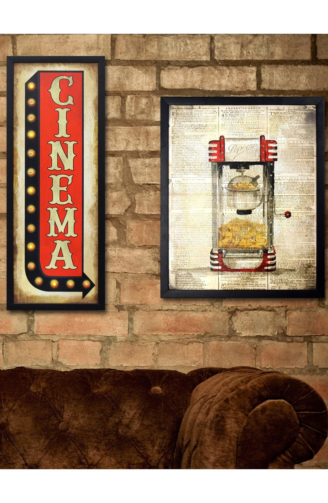 Alternate Image 4  - Crystal Art Gallery 'Cinema' LED Light-Up Marquee Sign