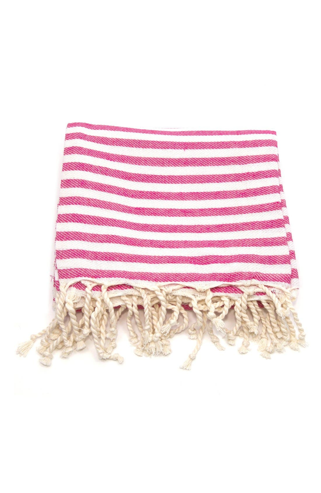 Alternate Image 3  - Linum Home Textiles 'Fun in the Sun' Turkish Pestemal Towel