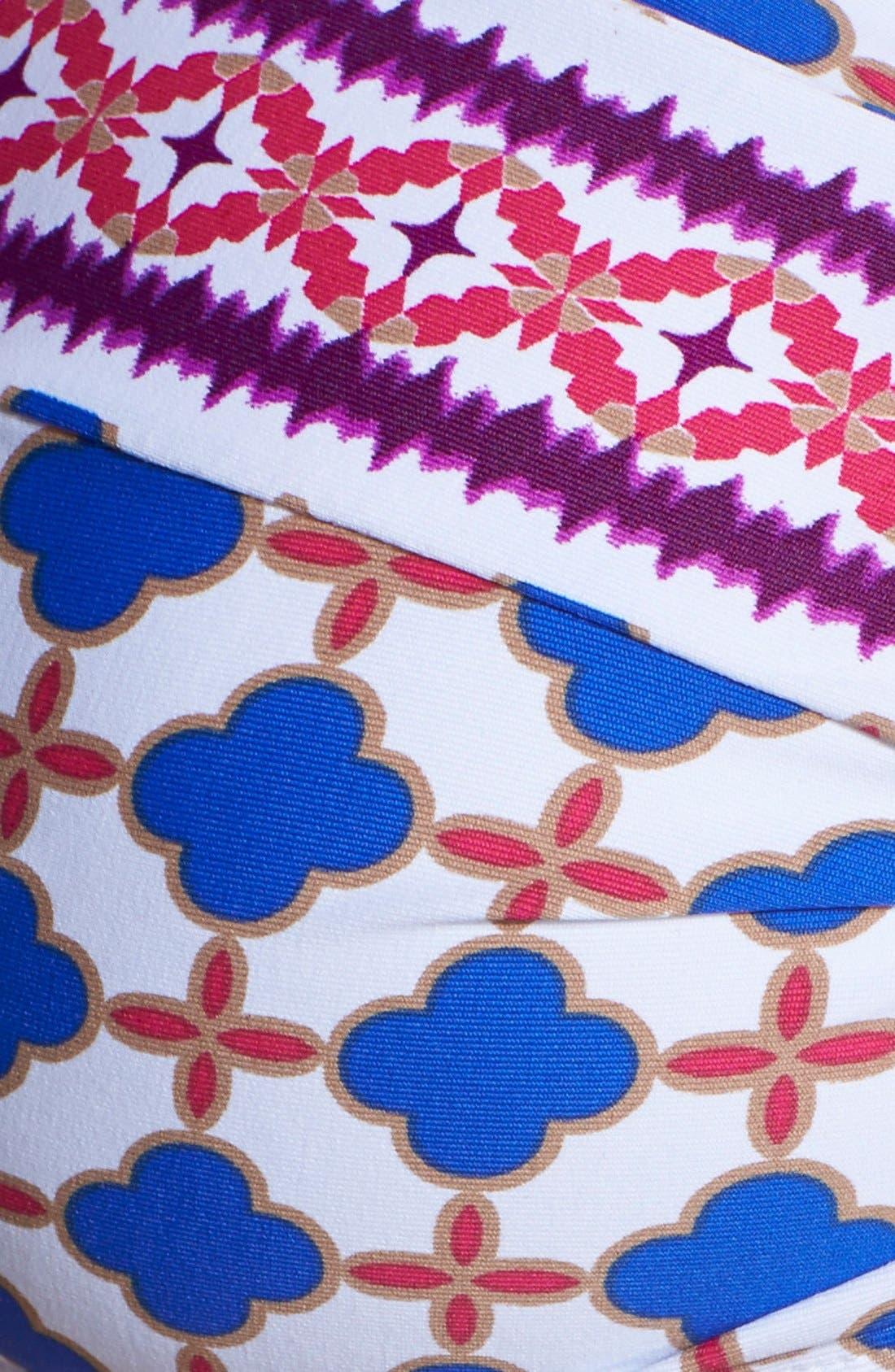 Alternate Image 3  - La Blanca 'Bohemian Border' Bandeau Bikini Top