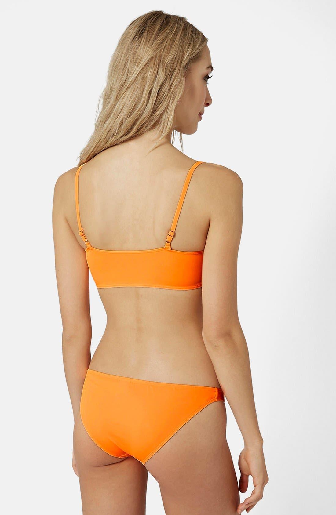 Alternate Image 2  - Topshop Fluro Bikini Set