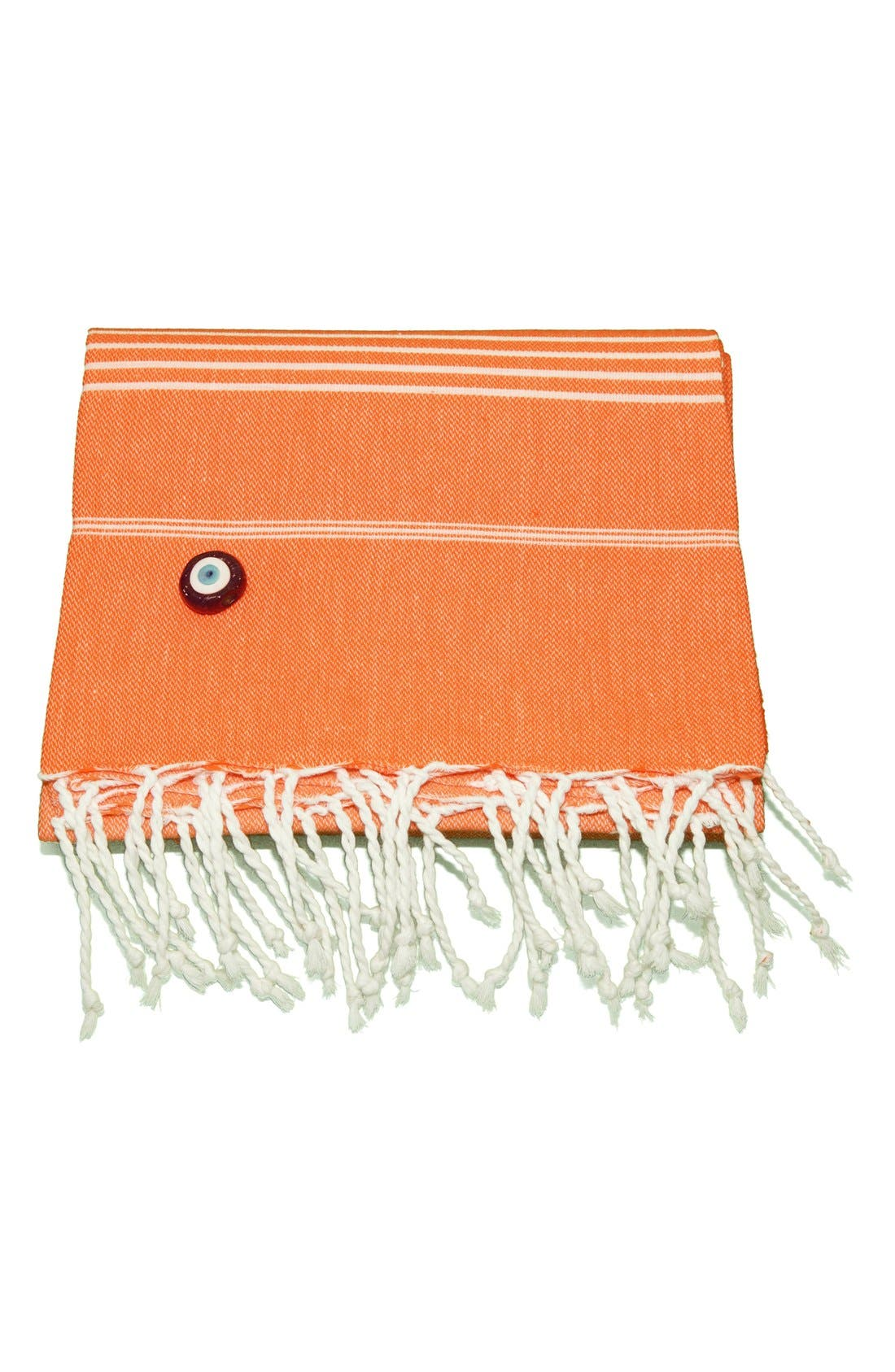 Linum Home Textiles 'Lucky' Turkish Pestemal Towel