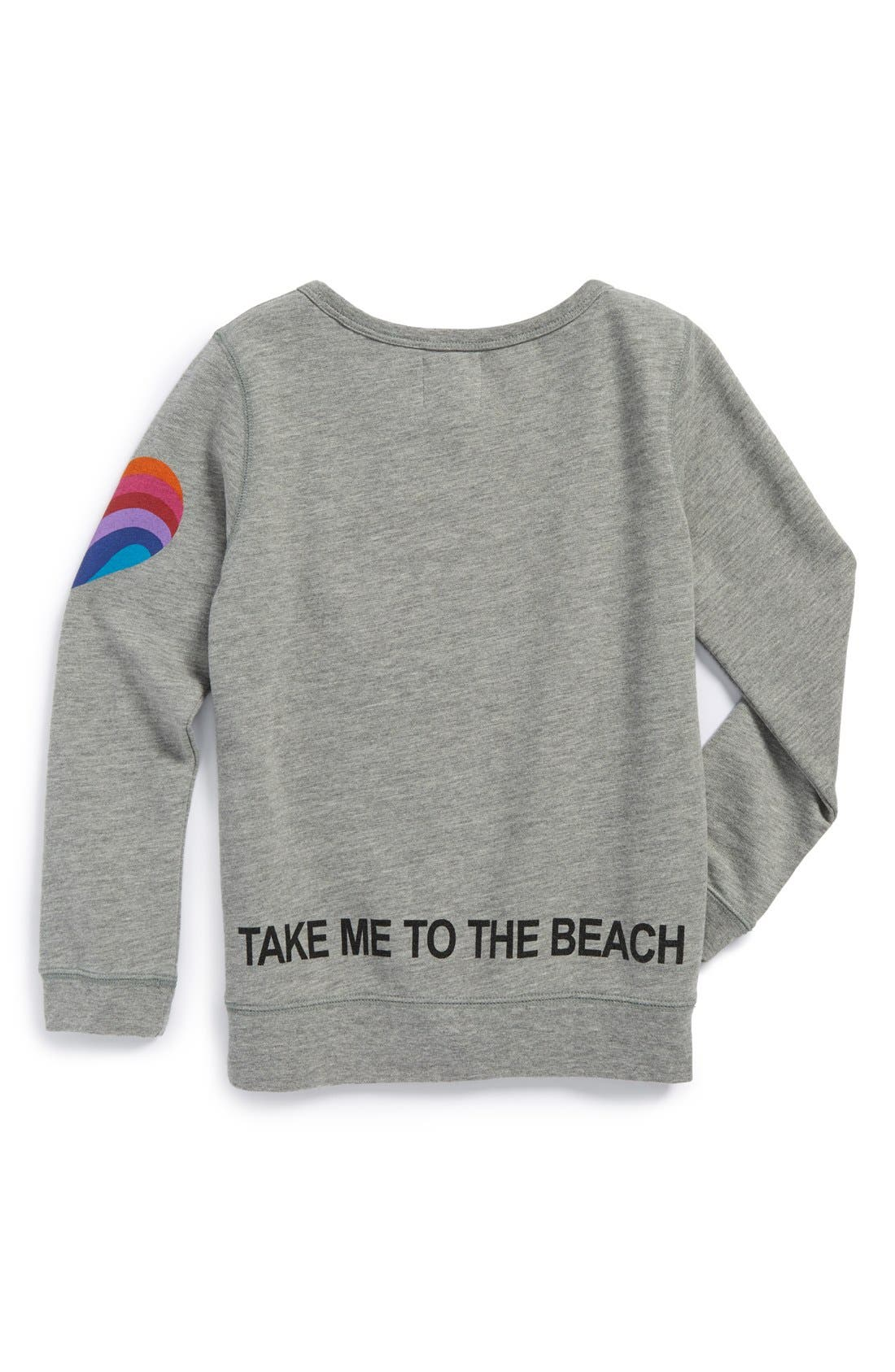 Alternate Image 2  - Peek 'Summer Please' Graphic Sweatshirt (Toddler Girls, Little Girls & Big Girls)