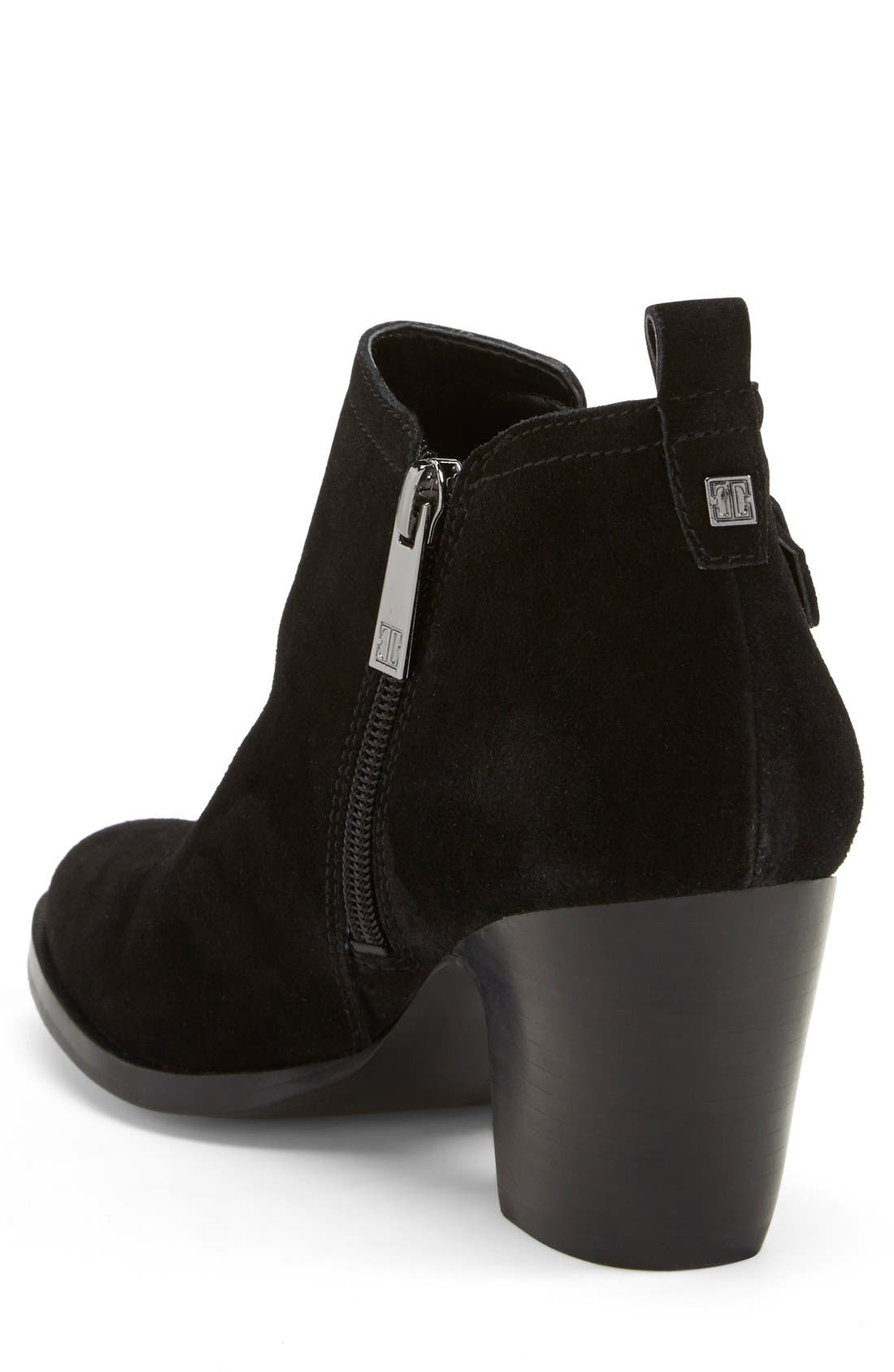 Alternate Image 2  - Ivanka Trump 'Taren' Suede Bootie (Women)