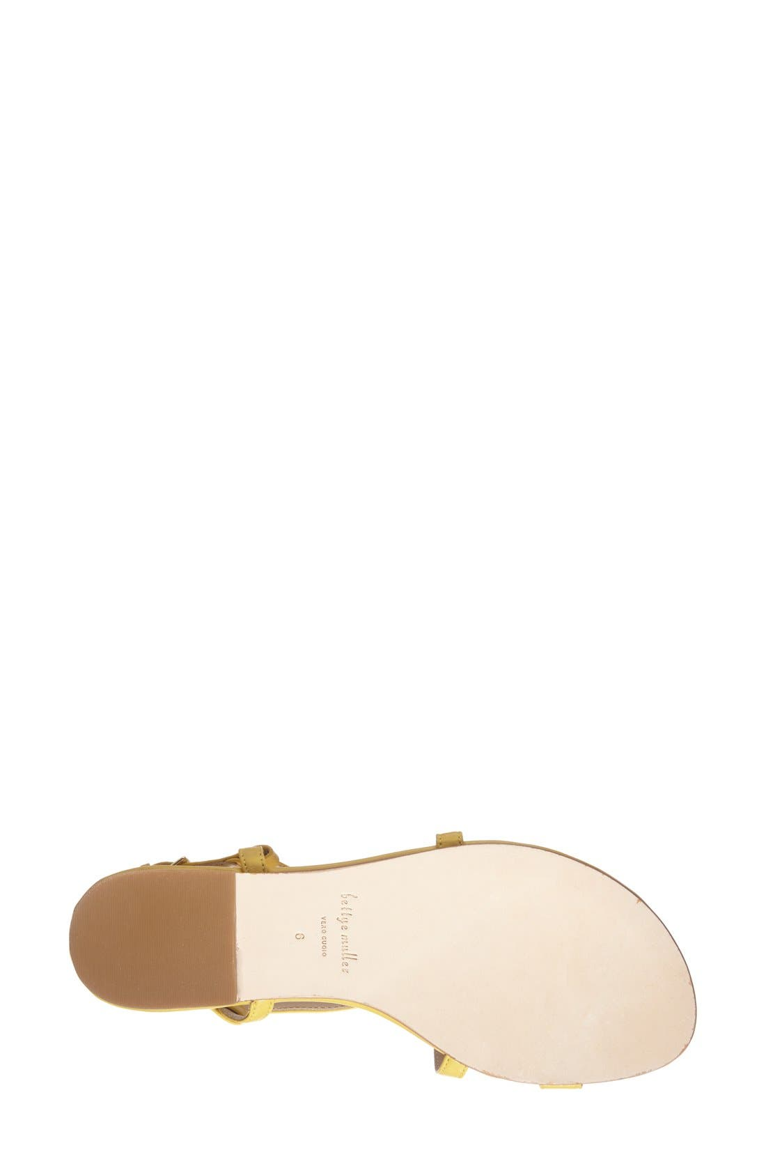 Alternate Image 4  - Bettye Muller 'Sasha' Leather Tassel Sandal (Women)