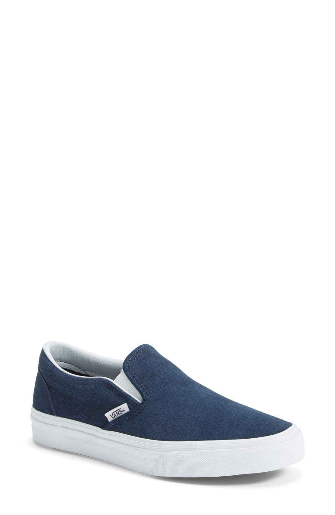 Alternate Image 1 Selected - Vans Suede Slip-On Sneaker (Women)